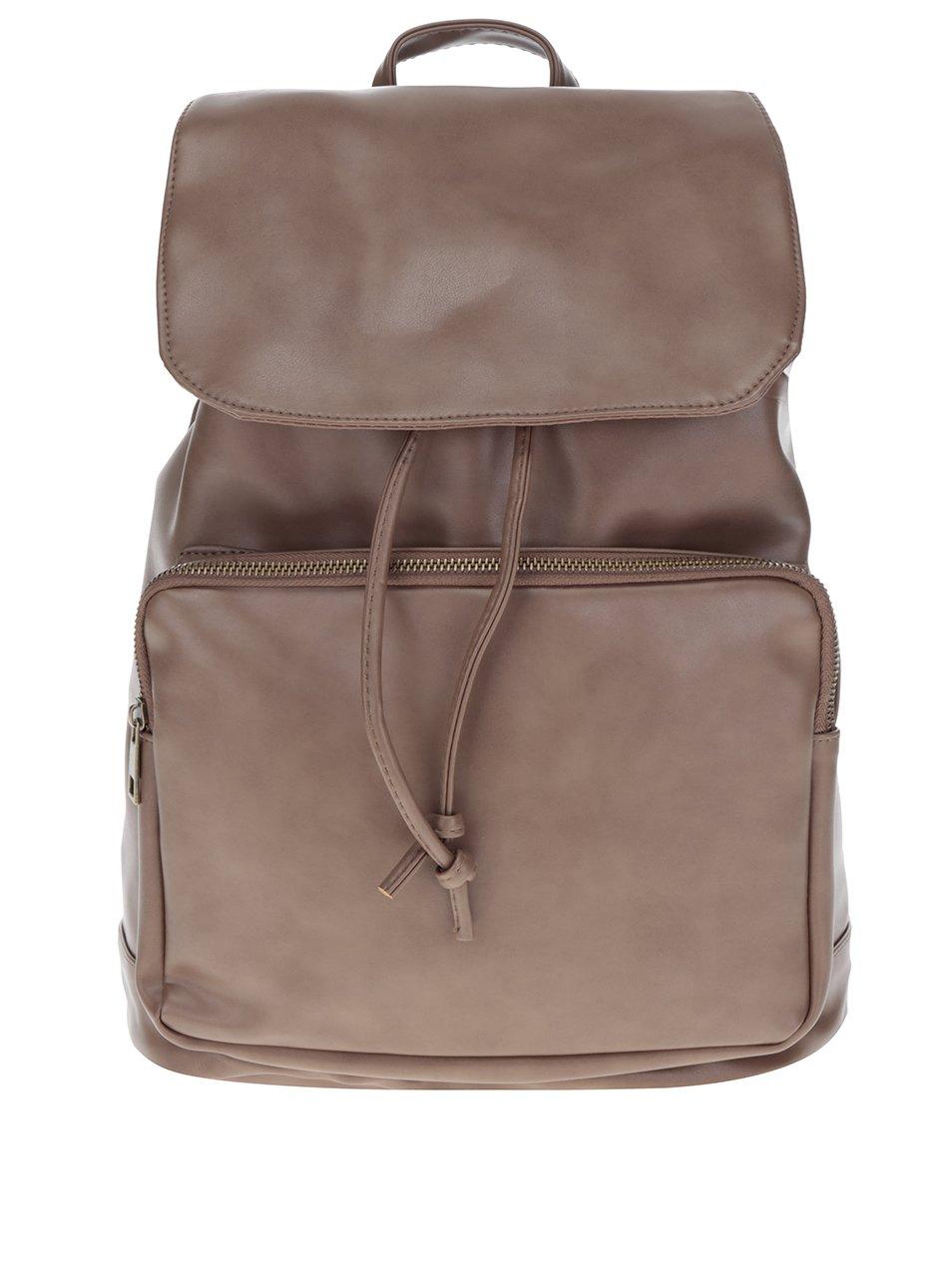 Hnědý dámský batoh ZOOT