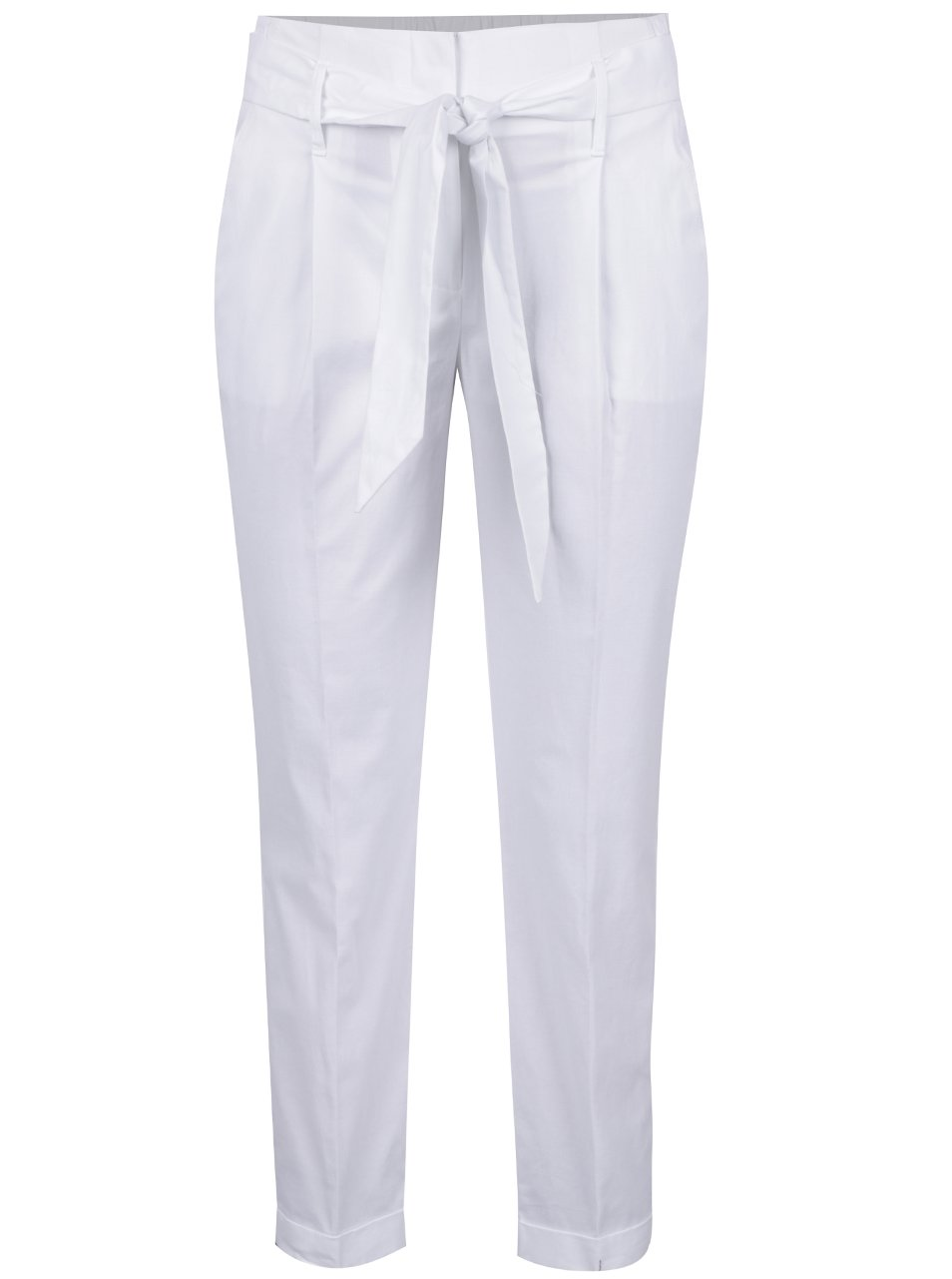 Bílé dámské kalhoty Dorothy Perkins