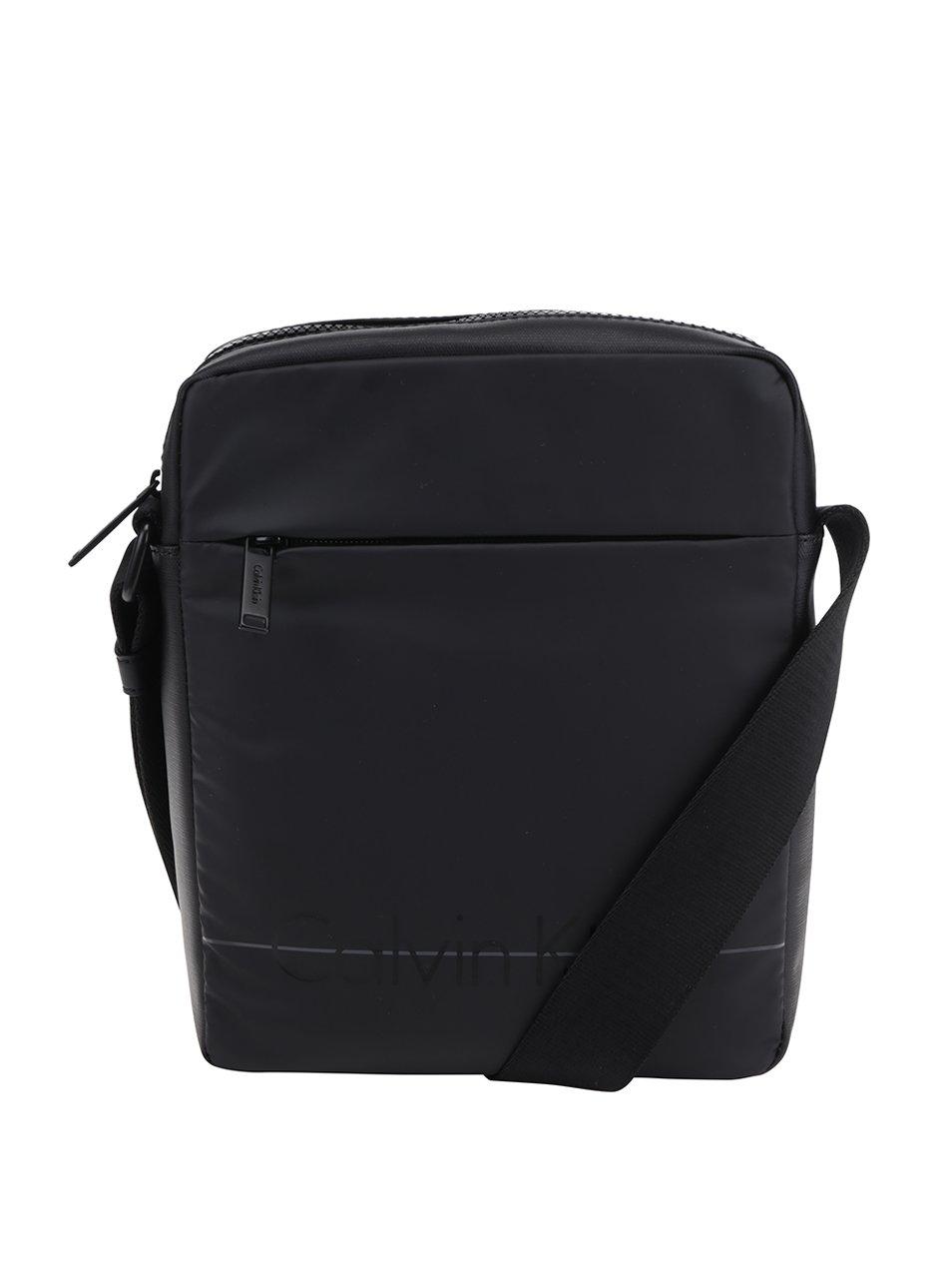 Černá pánská crossbody taška Calvin Klein Jeans Logan
