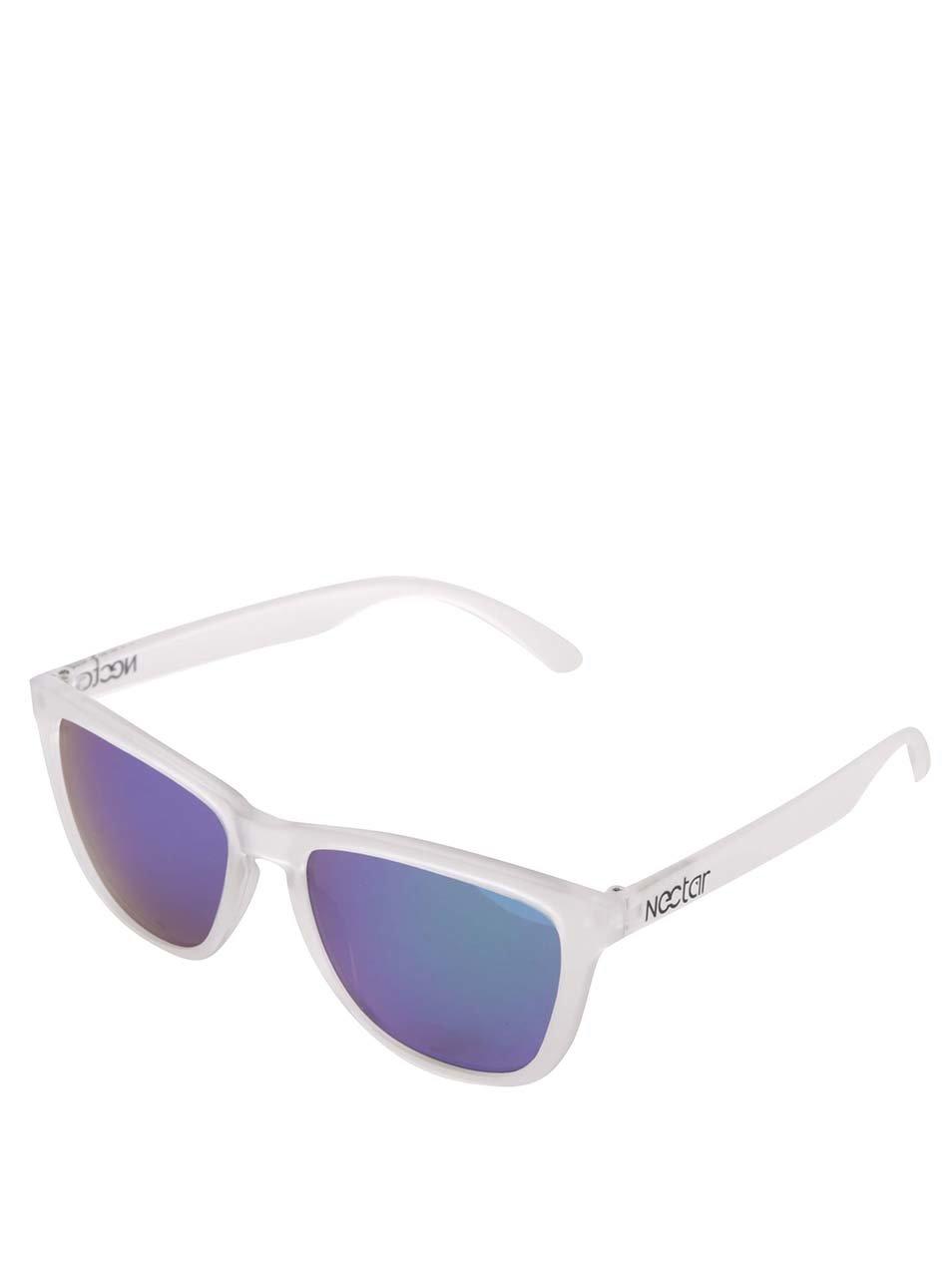 Transparentní dámské sluneční brýle Nectar Wayfarer
