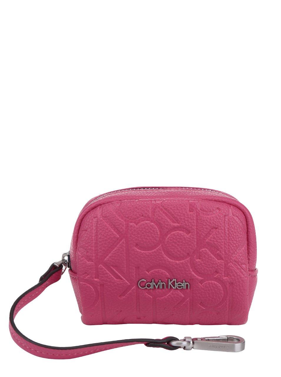 Růžová dámská malá peněženka Calvin Klein Jeans Misha