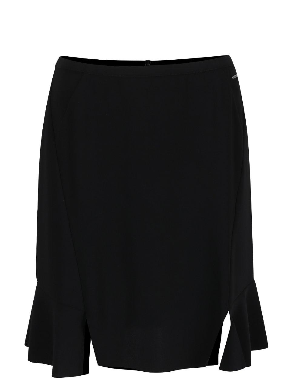 Černá áčková sukně Calvin Klein Jeans Kali