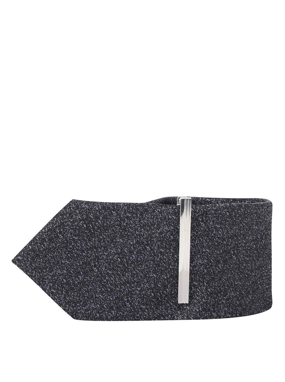 Tmavě šedá kravata Burton Menswear London
