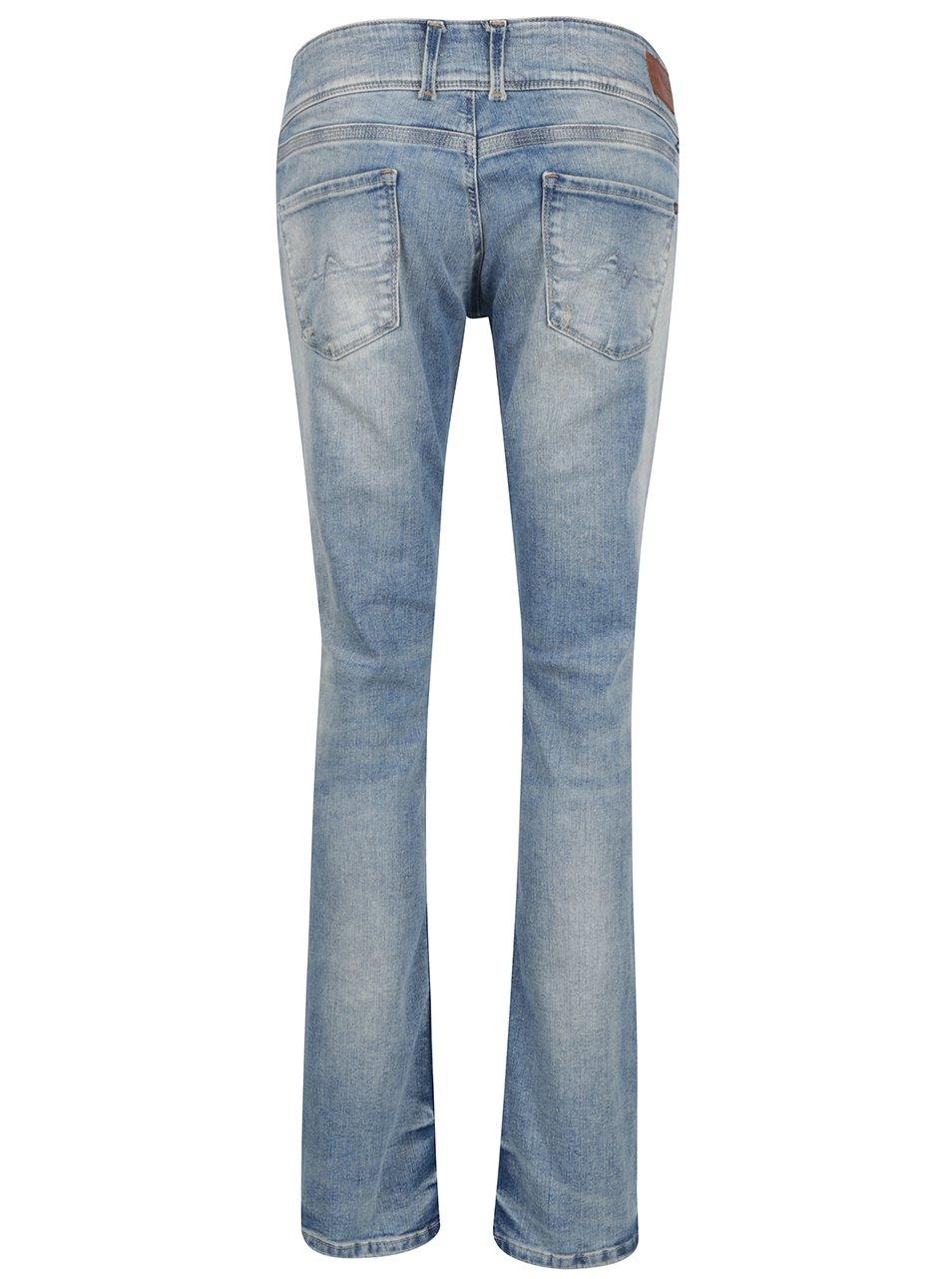 Světle modré dámské slim fit džíny Pepe Jeans Vera - Akční cena ... 884cf0866c