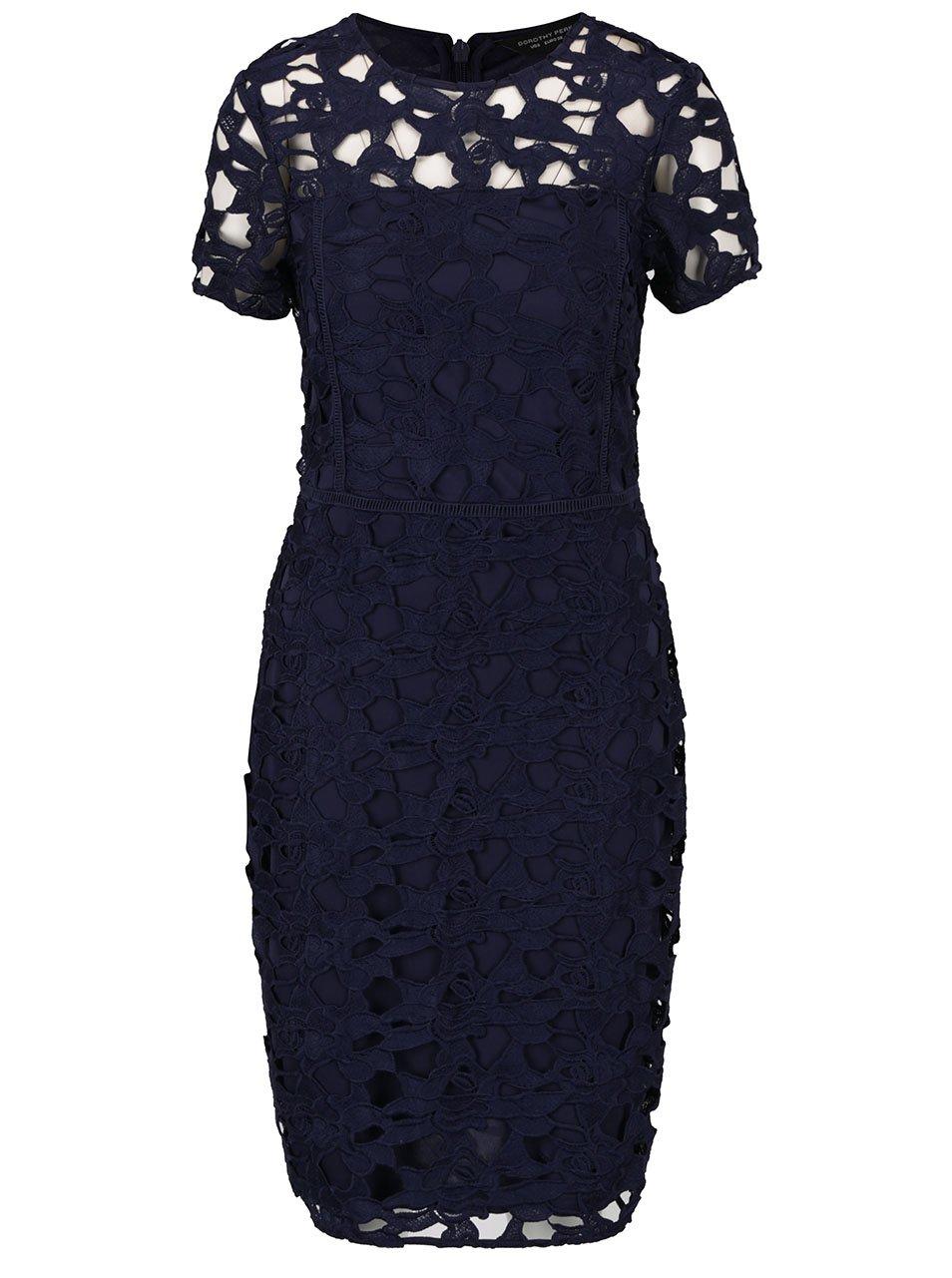 Tmavě modré šaty Dorothy Perkins