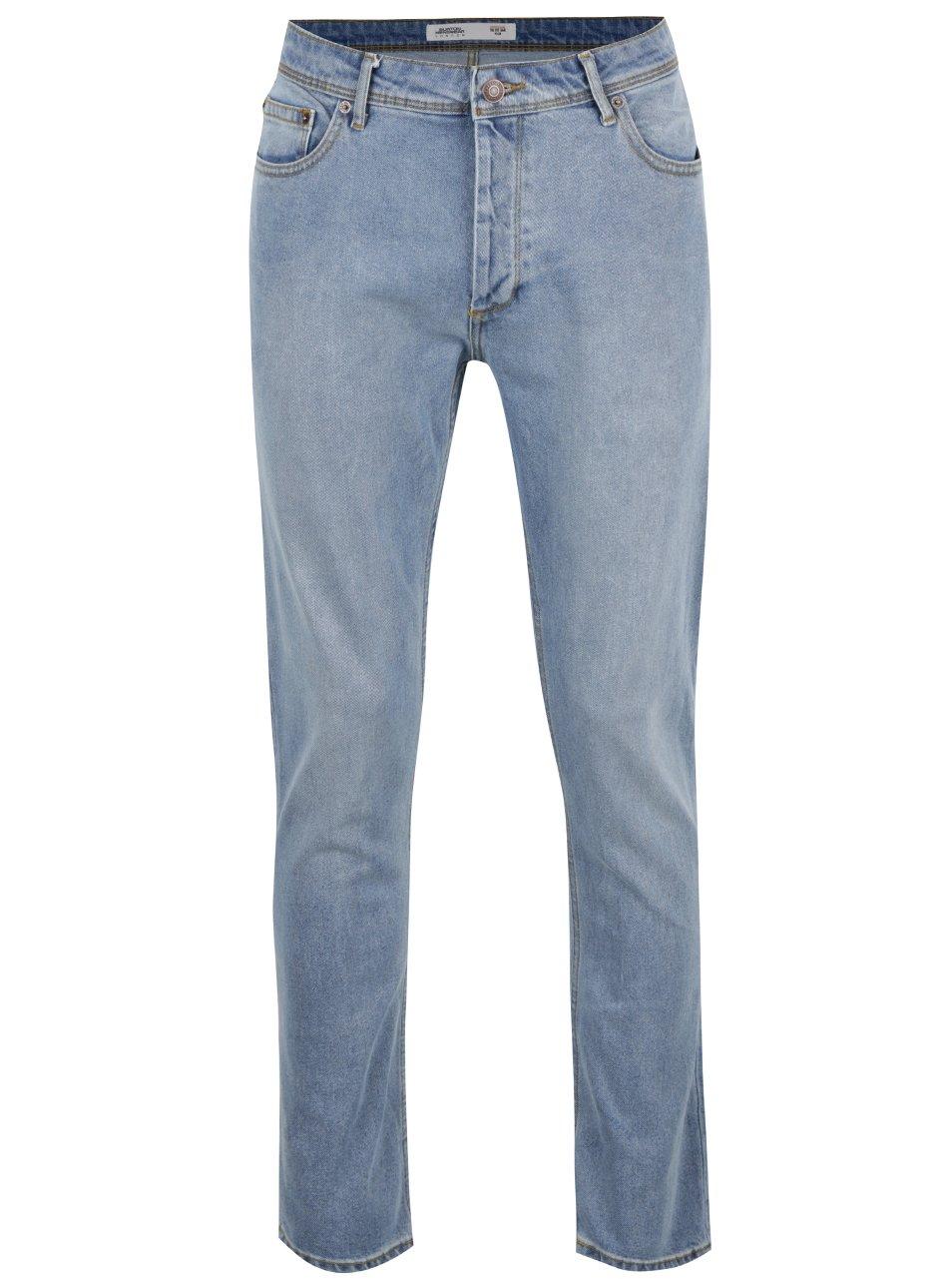 Světle modré slim džíny Burton Menswear London