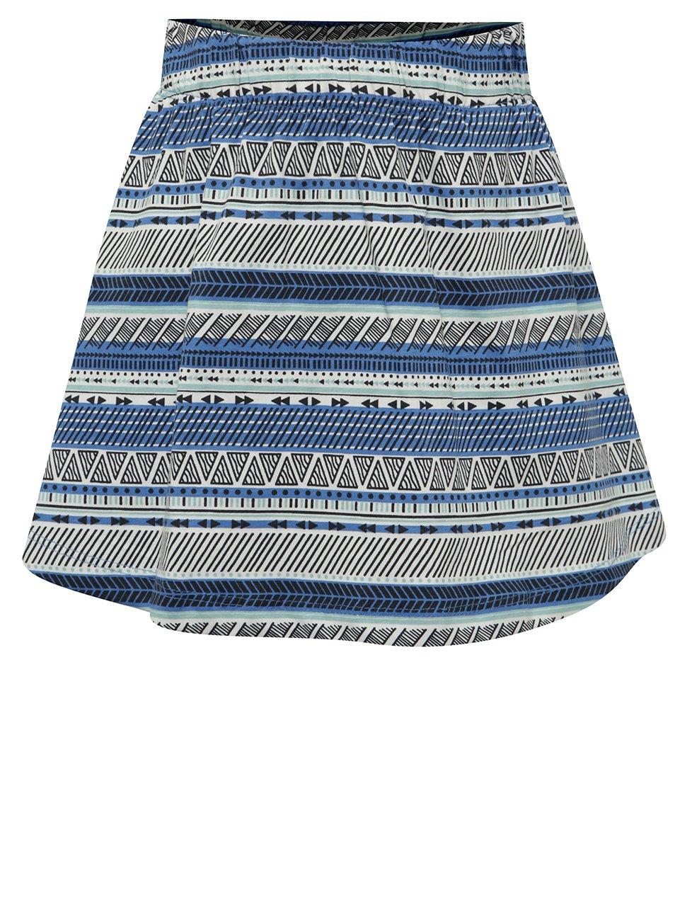 Bílo-modrá holčičí sukně name it Viggakira