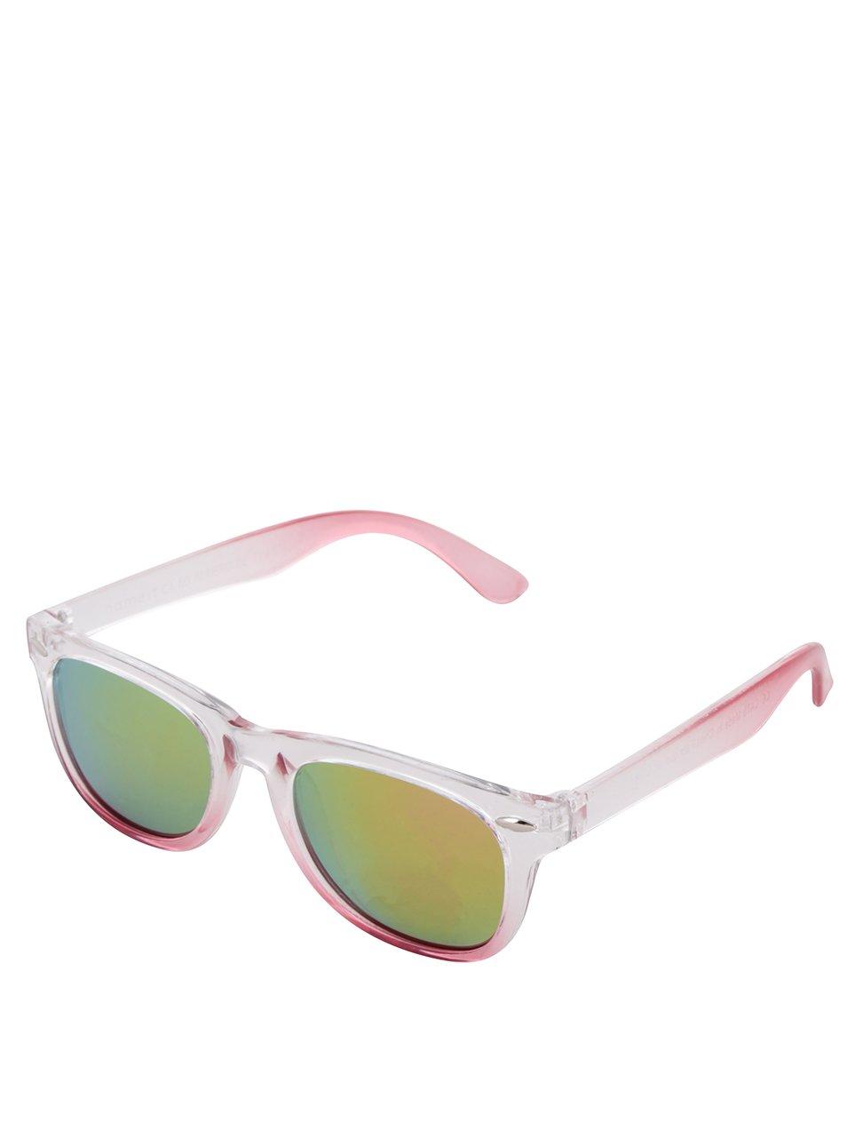 Růžové holčičí sluneční brýle name it