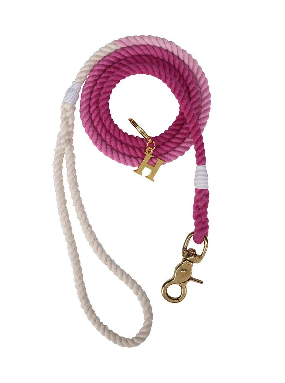 Bílo-růžové vodítko pro malé psy Hound 8 mm