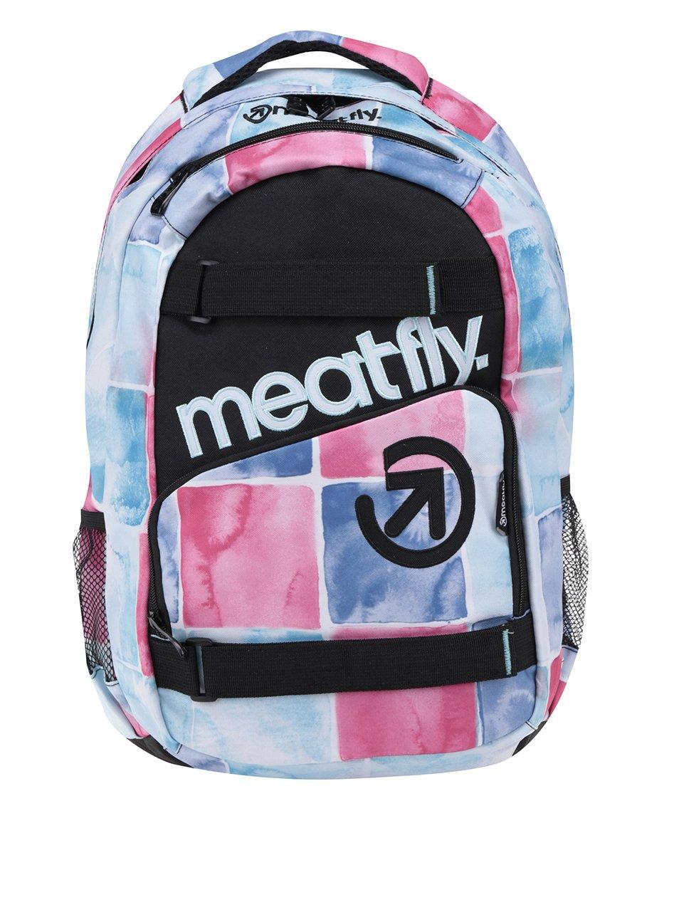 Modro-růžový dámský batoh Meatfly Exile 22 l