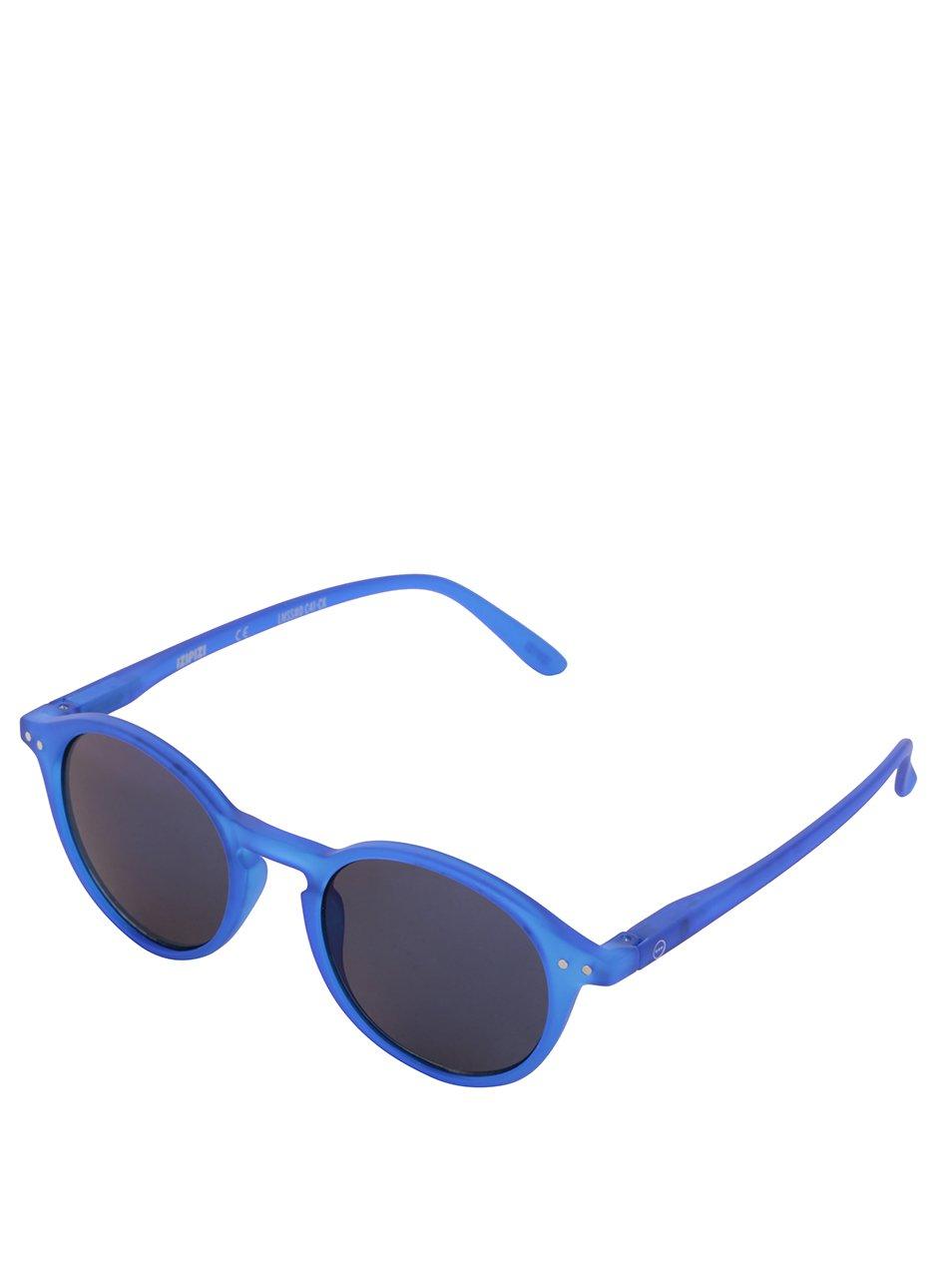 Modré sluneční brýle se zrcadlovými modrými skly IZIPIZI #D