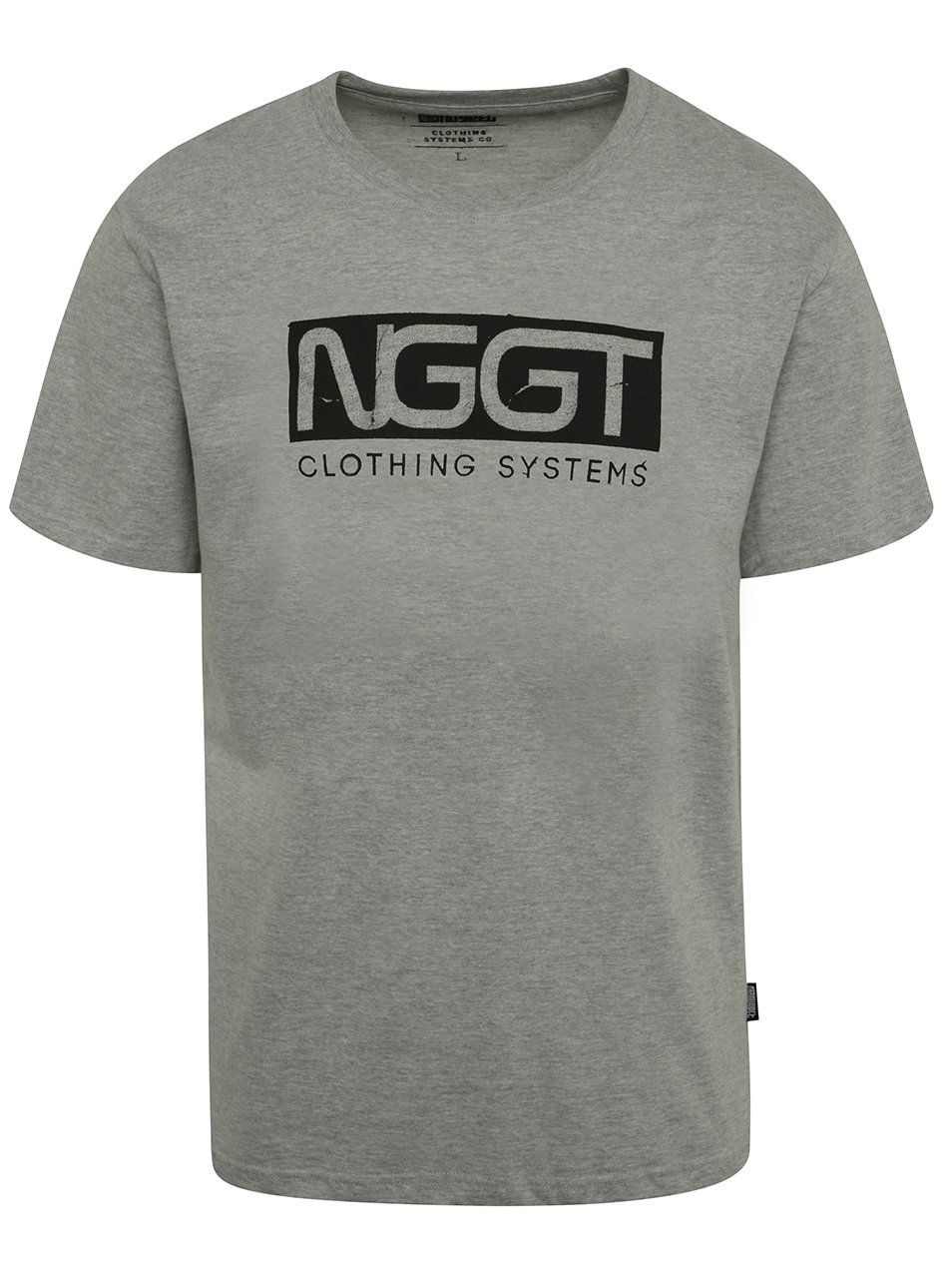 Šedé pánské triko s potiskem NUGGET Class