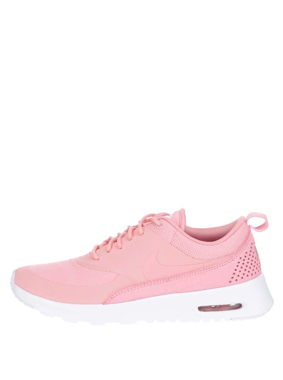Růžové dámské tenisky Nike Air Max Thea