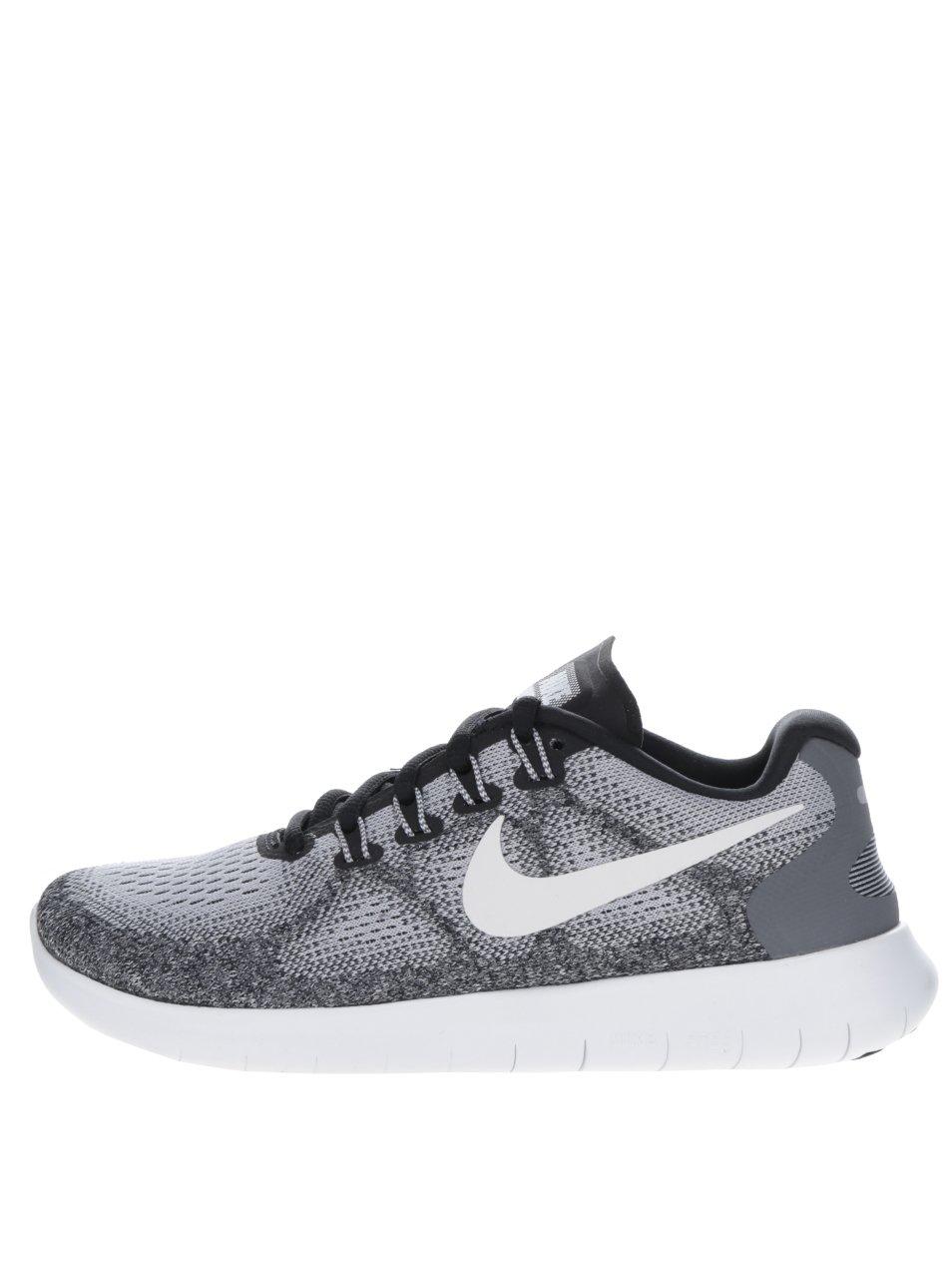 Šedé dámské tenisky Nike Free run
