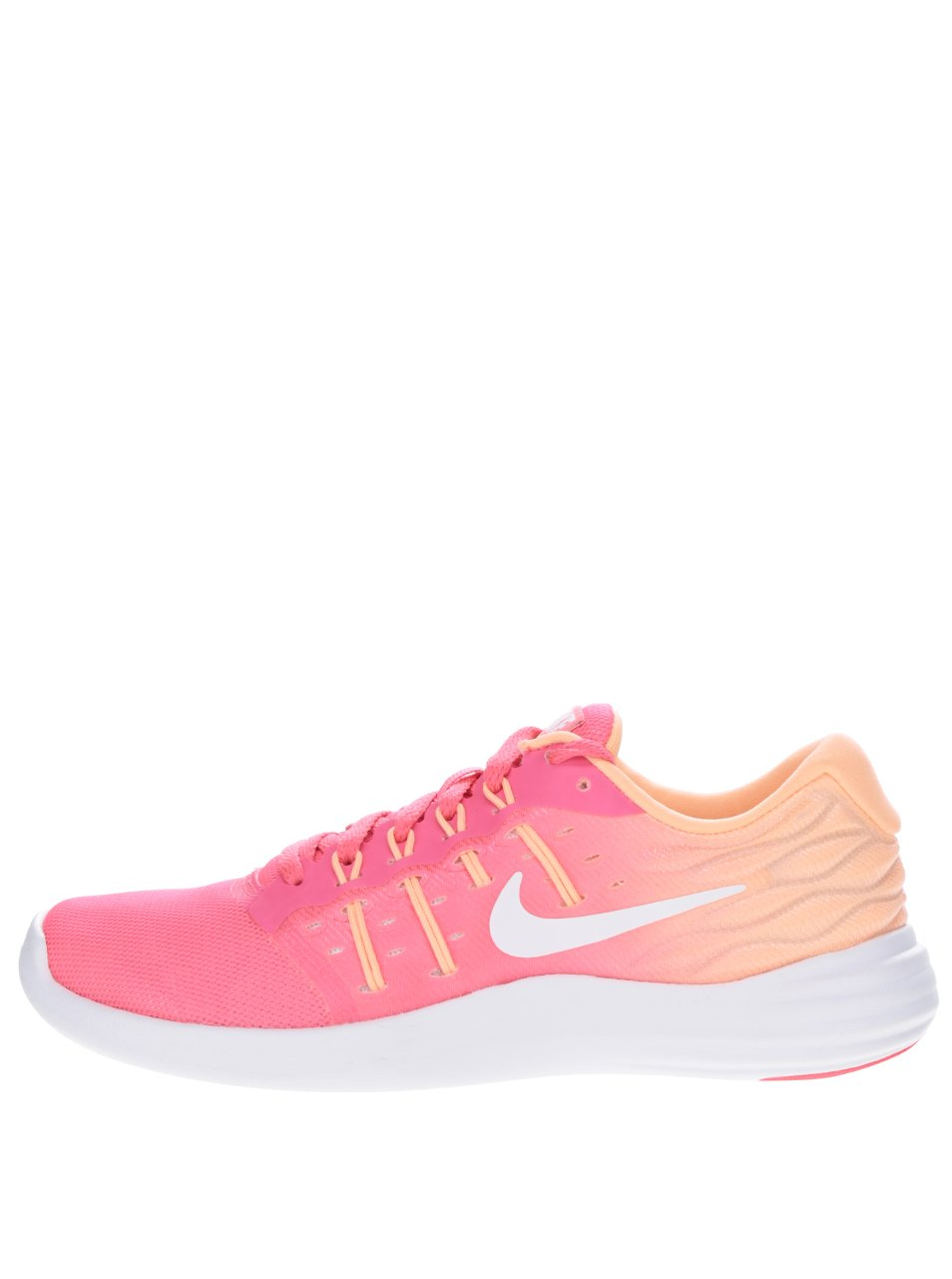 Růžovo-oranžové dámské tenisky Nike Lunarstelos