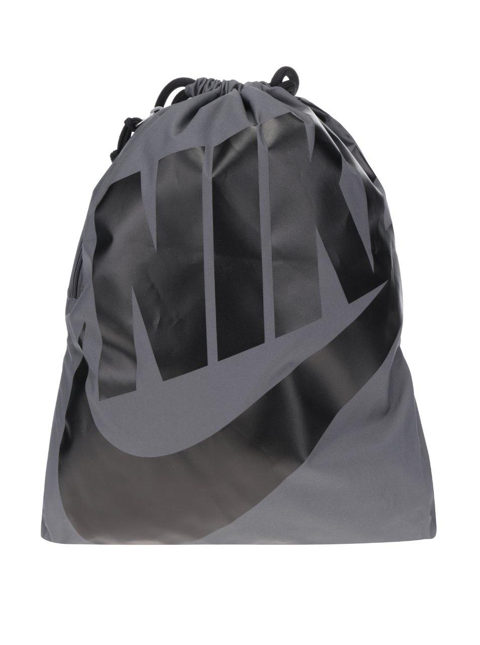 Šedý pánský vak s potiskem Nike