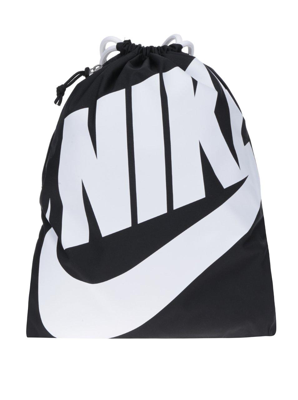 Černý dámský vak s potiskem Nike