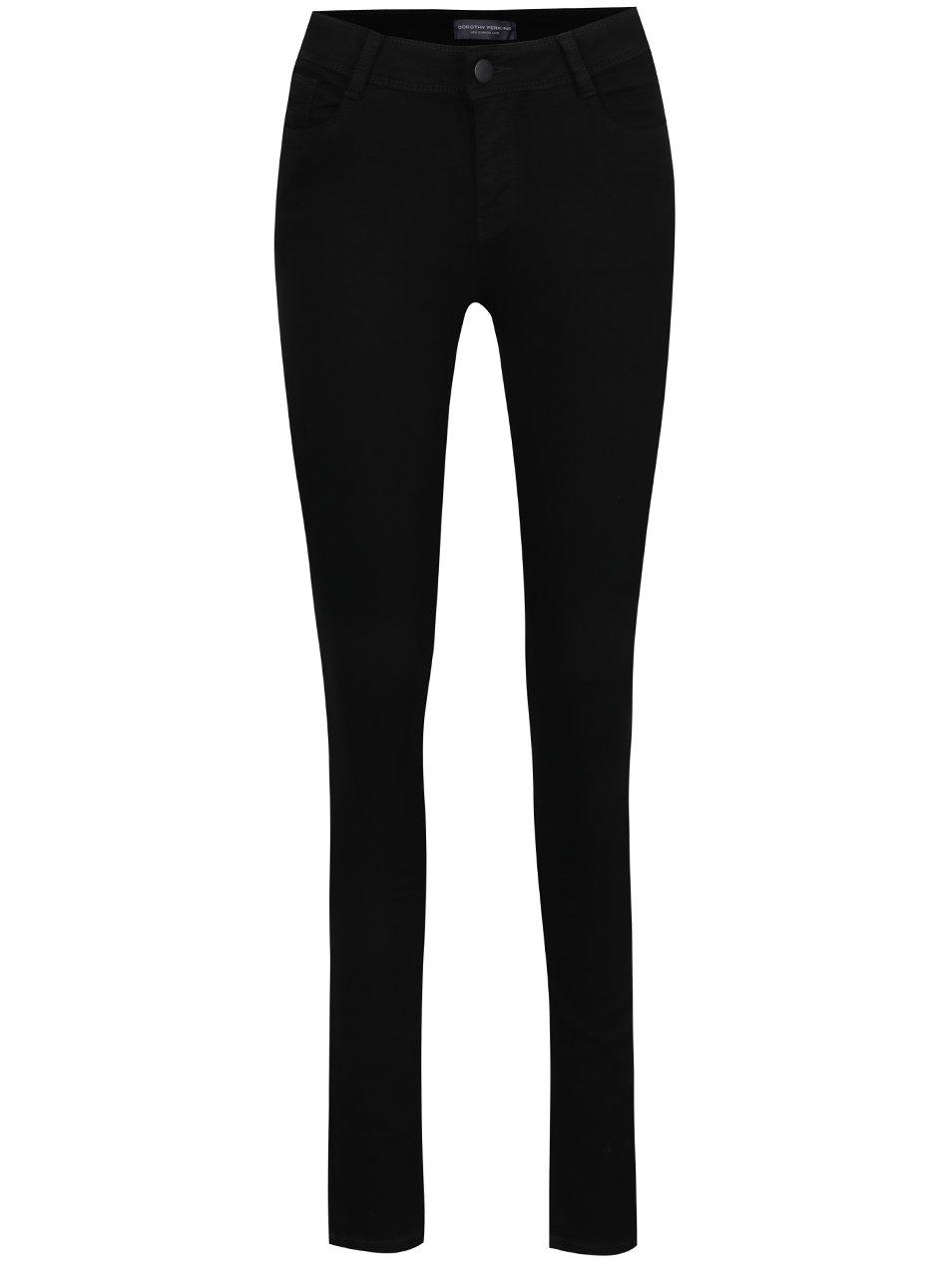 Černé super skinny džíny Dorothy Perkins Tall