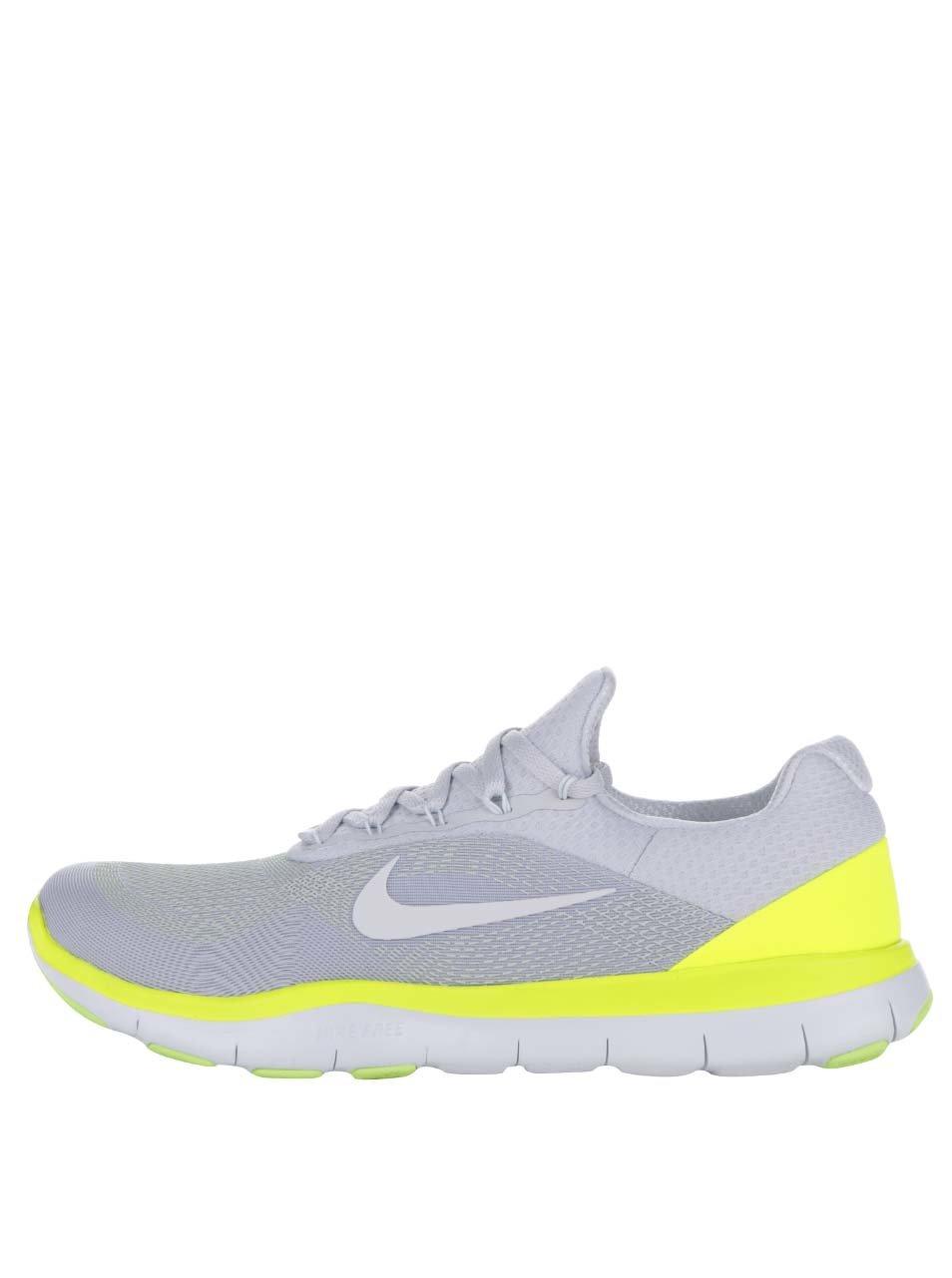 Žluto-šedé pánské tenisky Nike Free Trainer