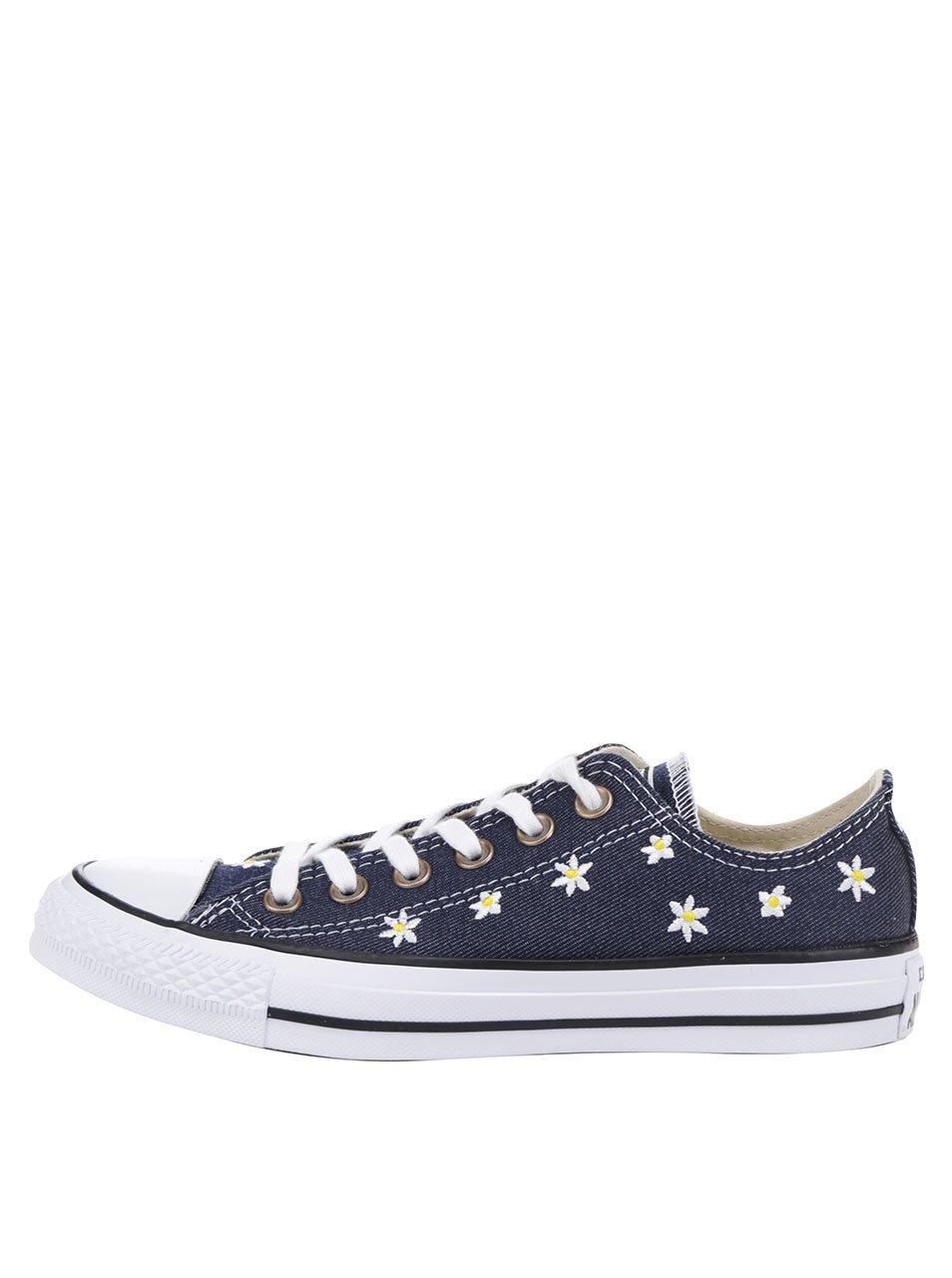 Tmavě modré dámské tenisky Converse