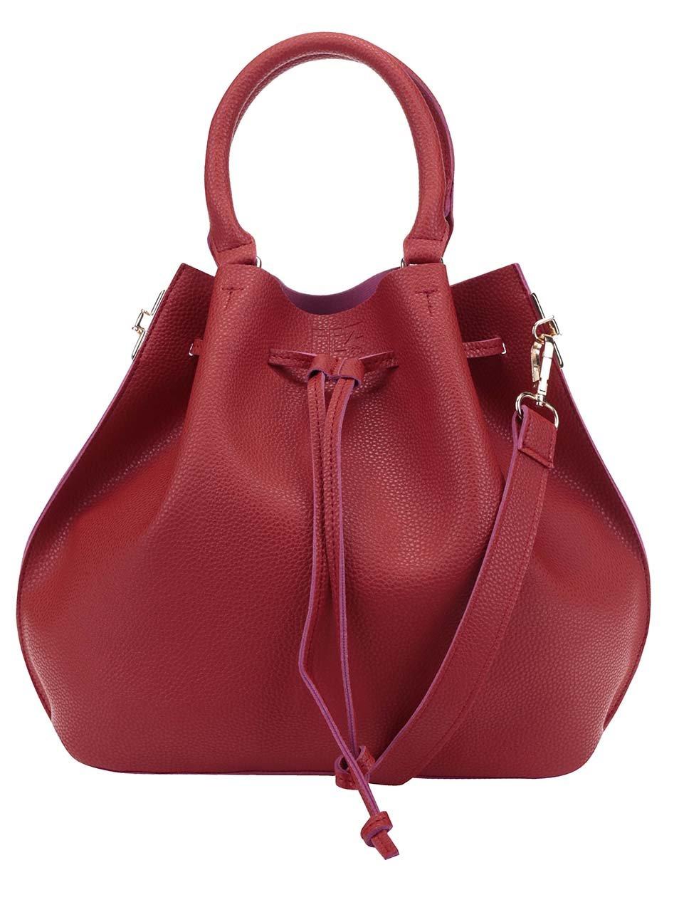 Červená kabelka Fez by Fez Secchiello