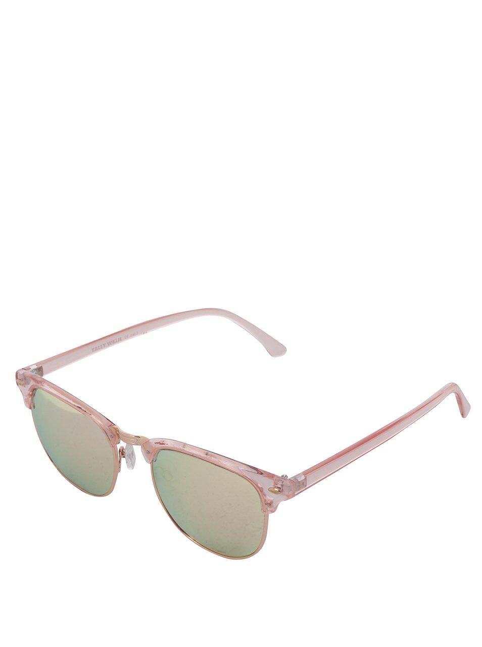 Světle růžové sluneční brýle TALLY WEiJL