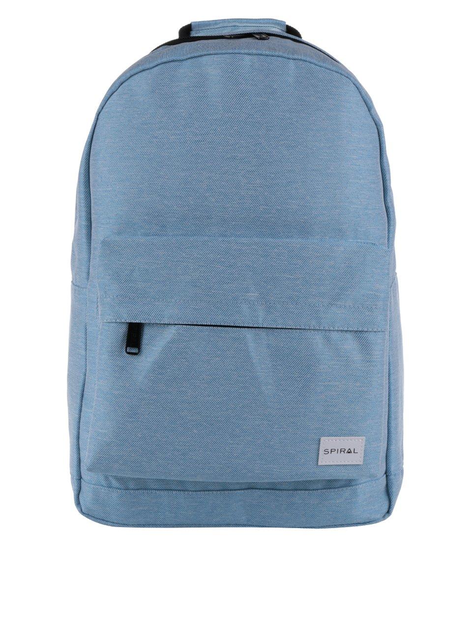 Světle modrý unisex batoh Spiral 18 l