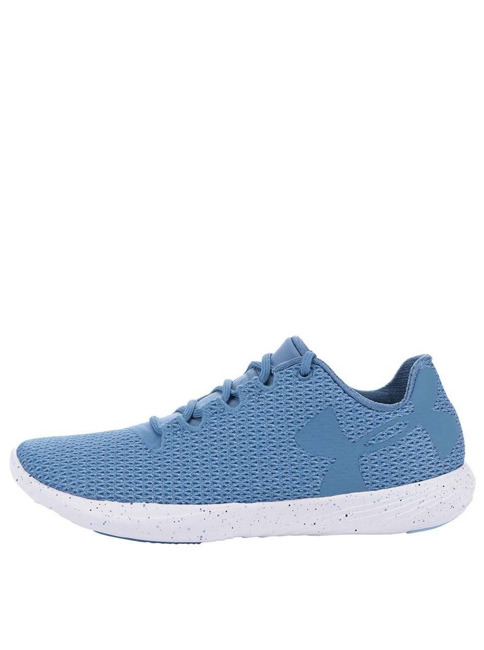 Modré dámské tenisky Under Armour UA W Street Prec Low Speckle