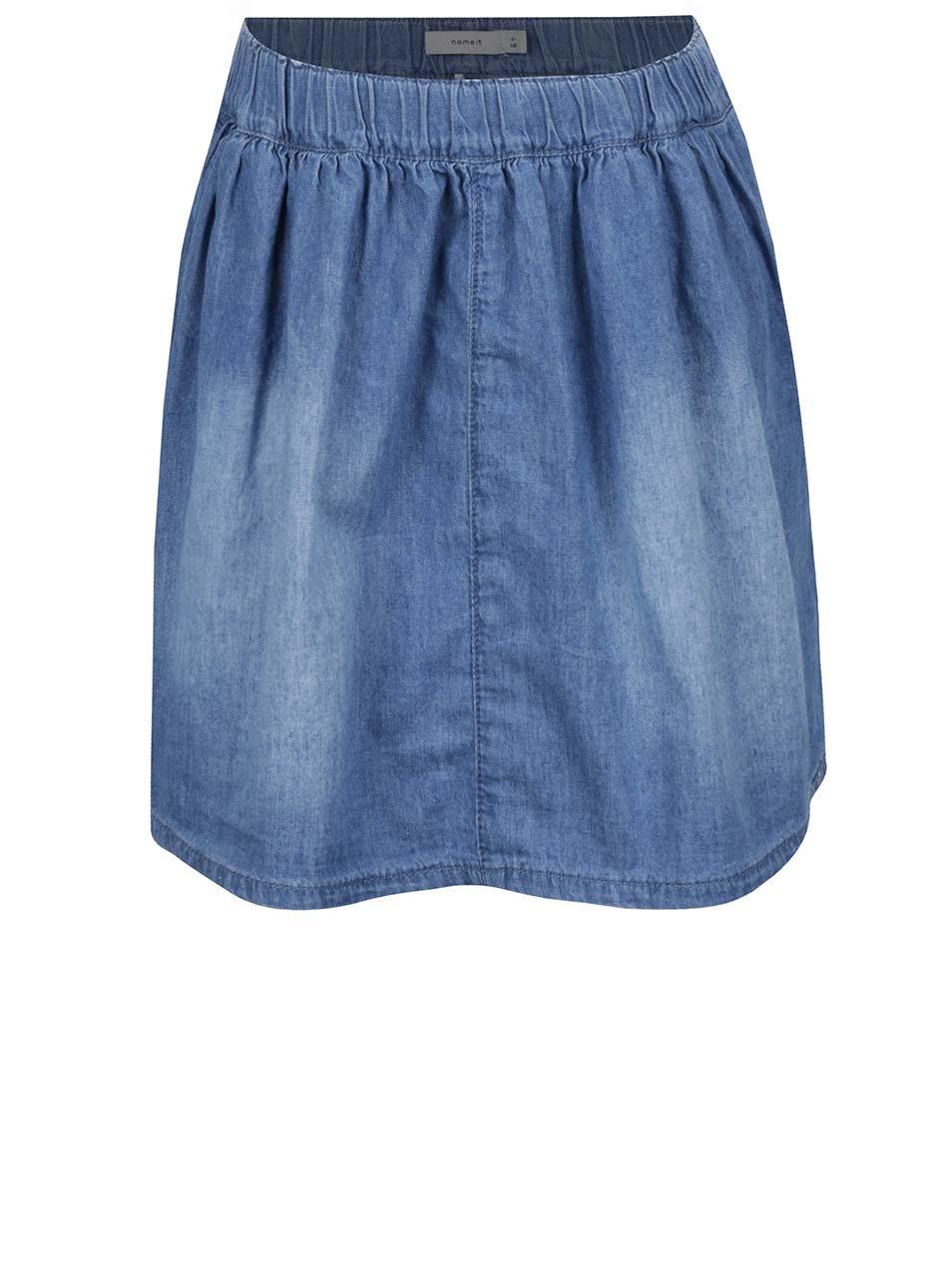 Modrá holčičí džínová sukně name it Asta