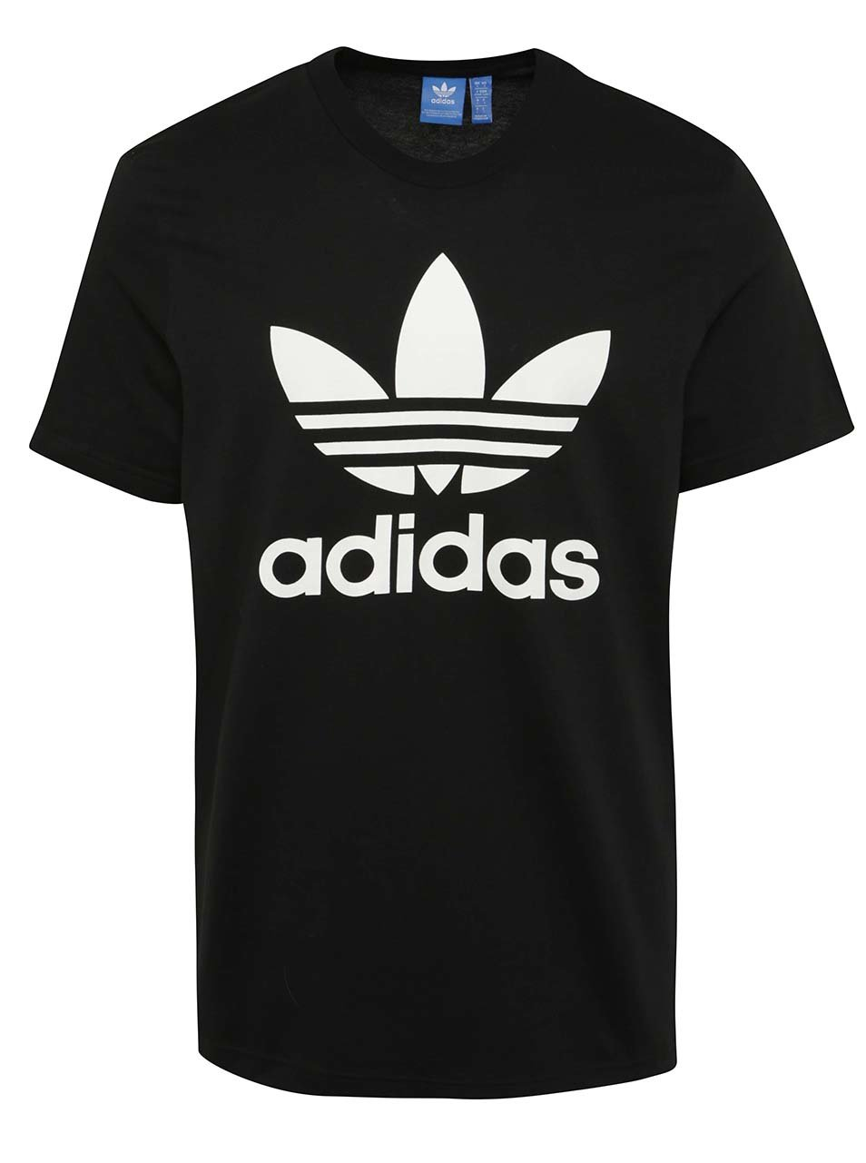 Černé pánské tričko s krátkým rukávem adidas Originals