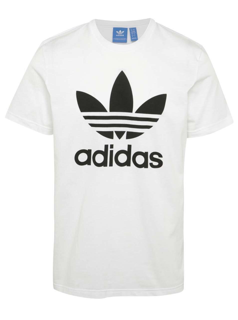 Bílé pánské triko s krátkým rukávem adidas Originals