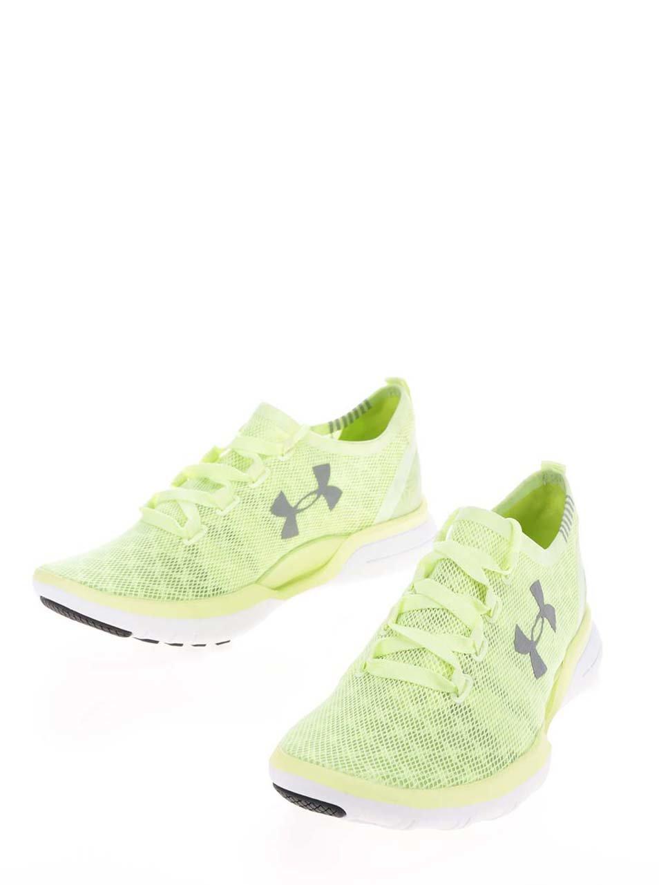 ... Zelené dámské tenisky Under Armour UA W Charged CoolSwitch Run ... 37f171d86e5