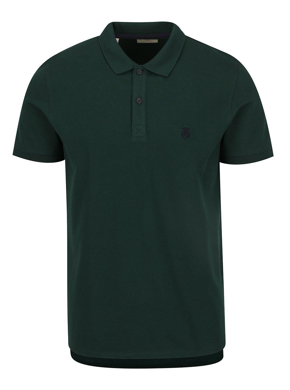 Zelené polo triko Selected Homme Haro