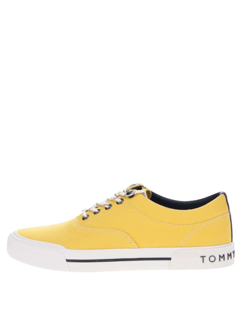 Žluté pánské tenisky Tommy Hilfiger