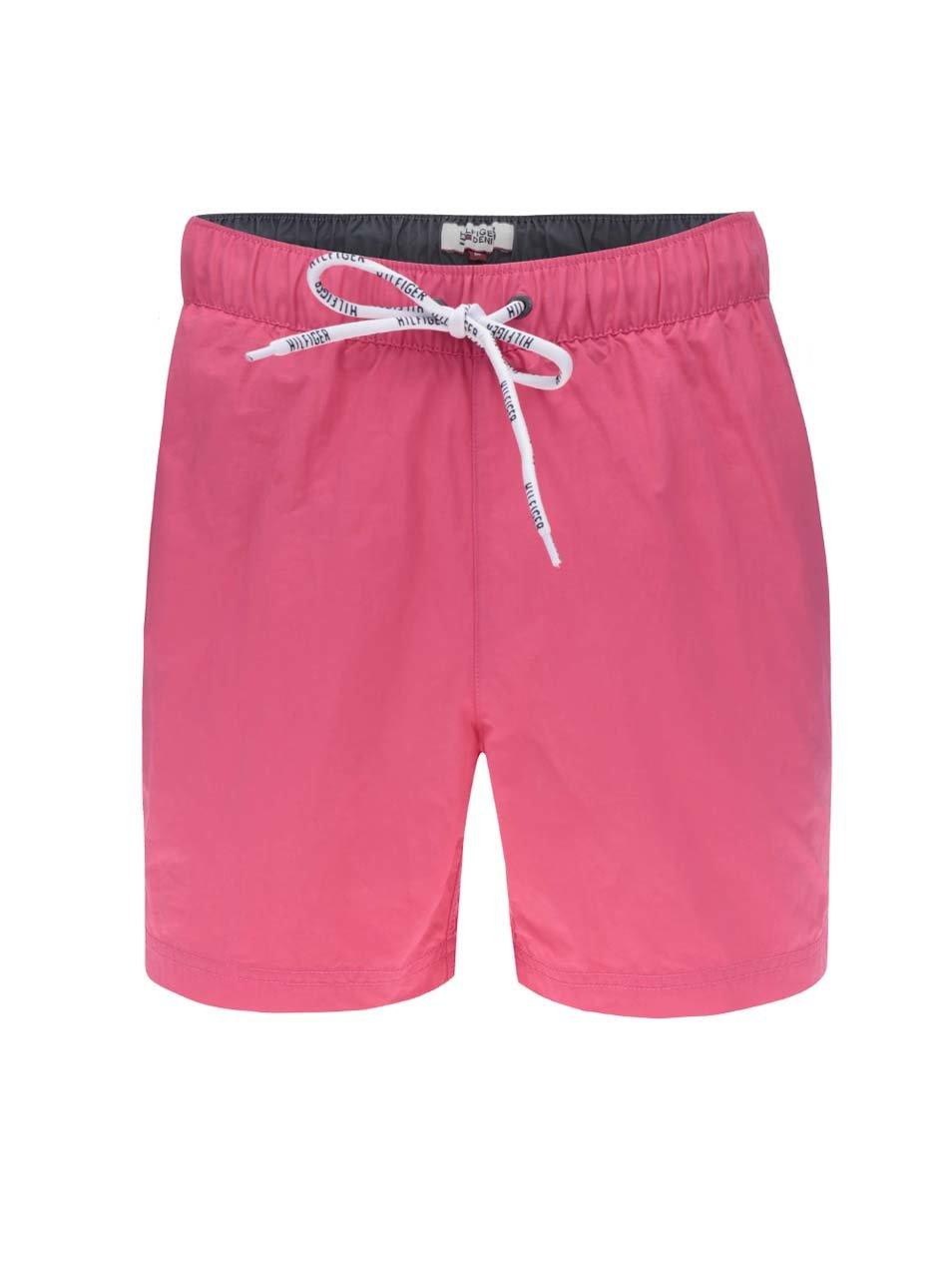 Růžové pánské plavky Tommy Hilfiger