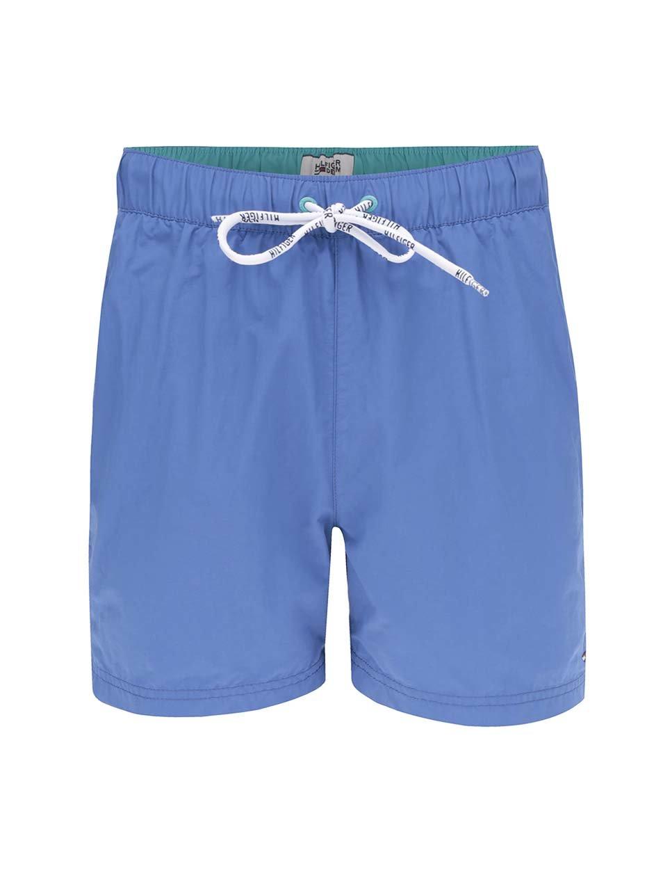 Modré pánské plavky Tommy Hilfiger