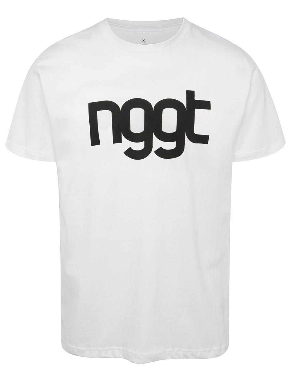 Bílé pánské triko s potiskem NUGGET Extend