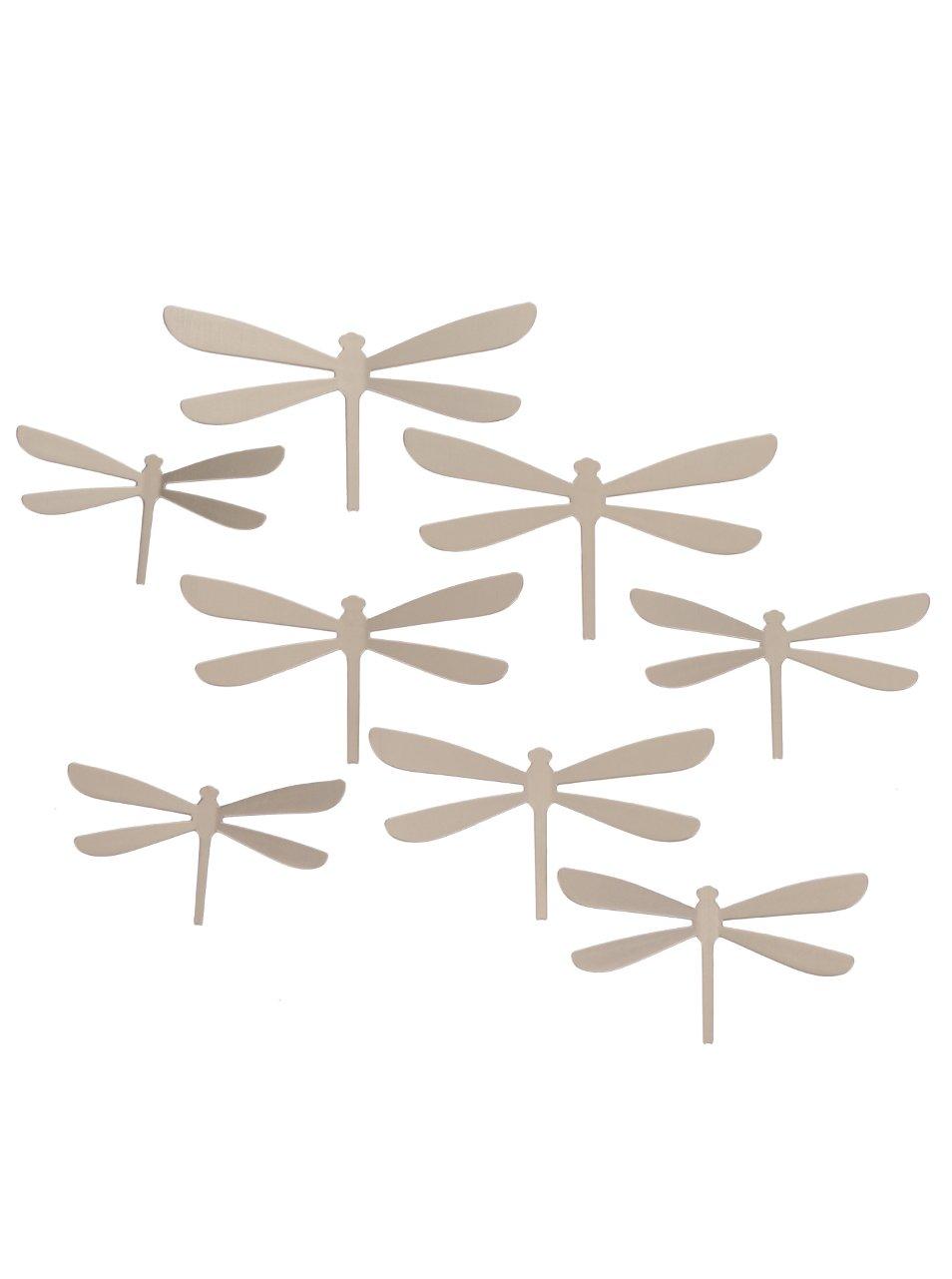 Metalické samolepící vážky na zeď Umbra Wallflutter