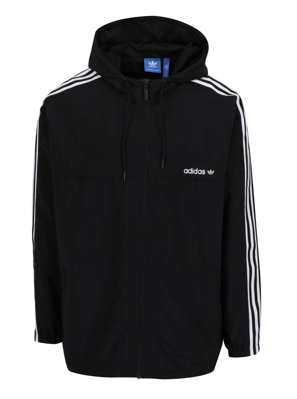 Černá pánská bunda adidas Originals Strappy