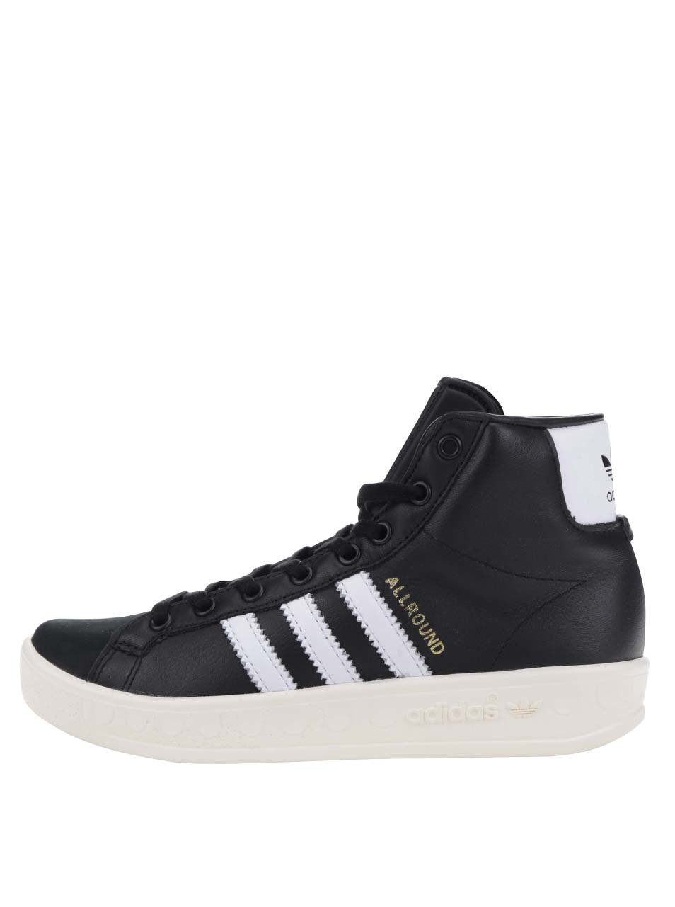 Černé dámské kožené tenisky adidas Originals AllRound