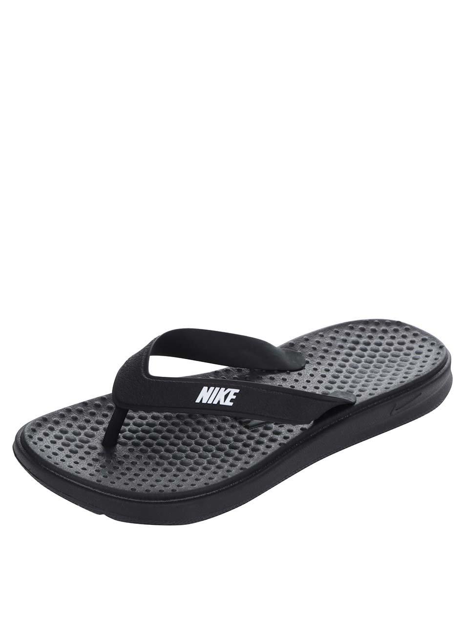 Černé dámské žabky Nike Solay Thong