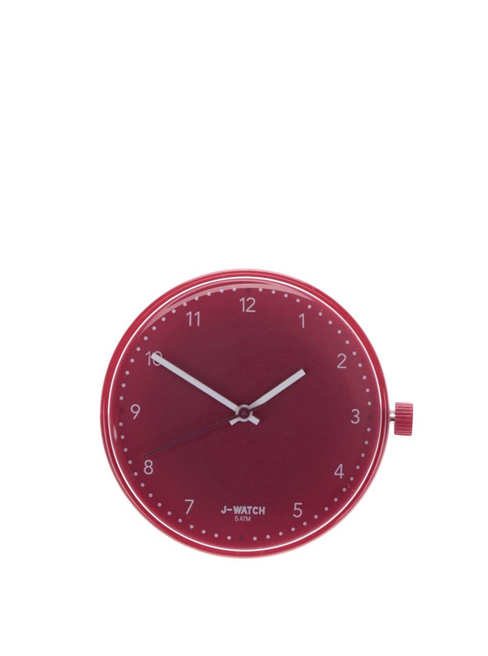 Tmavě růžový velký ciferník Ju'sto 40 mm