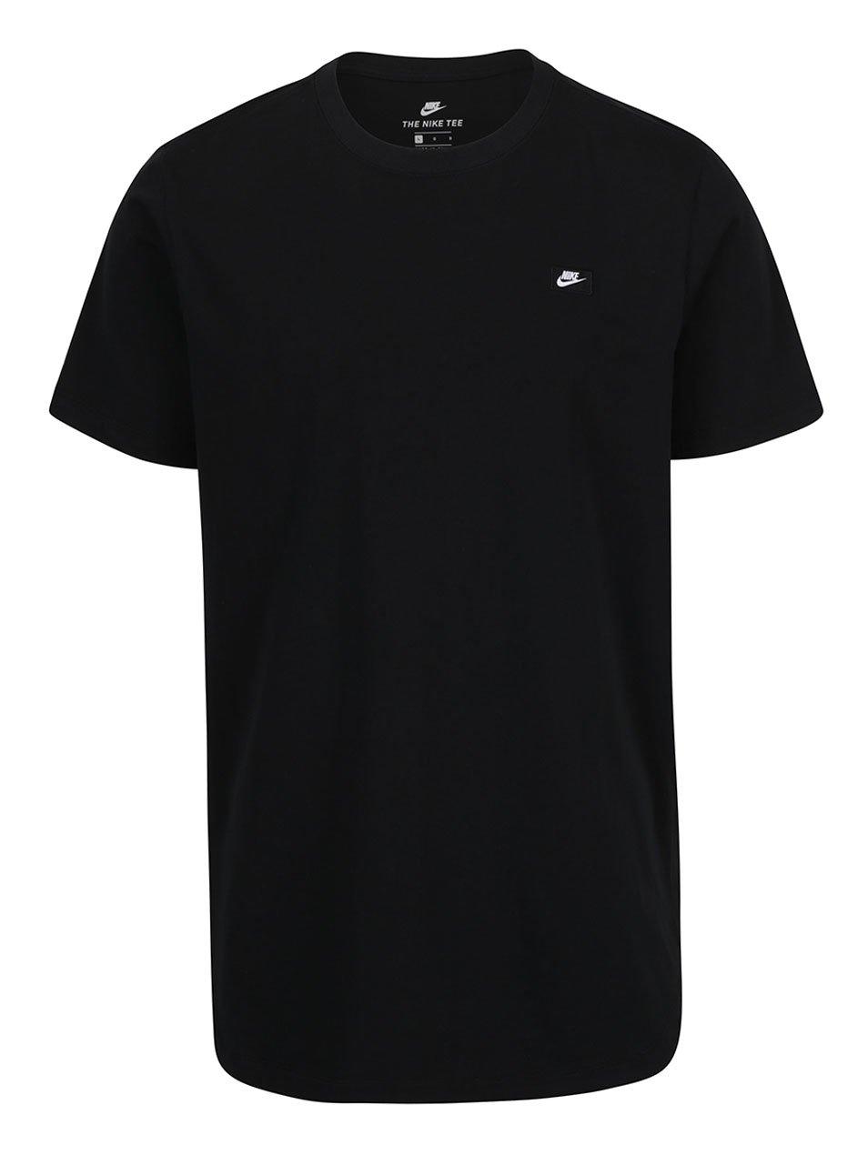 Černé pánské tričko s logem Nike Tee