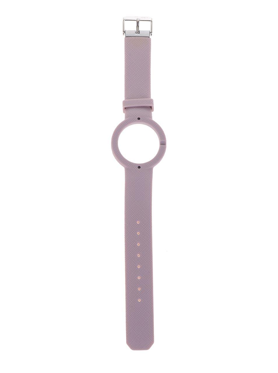 Starorůžový gumový pásek k hodinkám Ju'sto Antico 40 mm