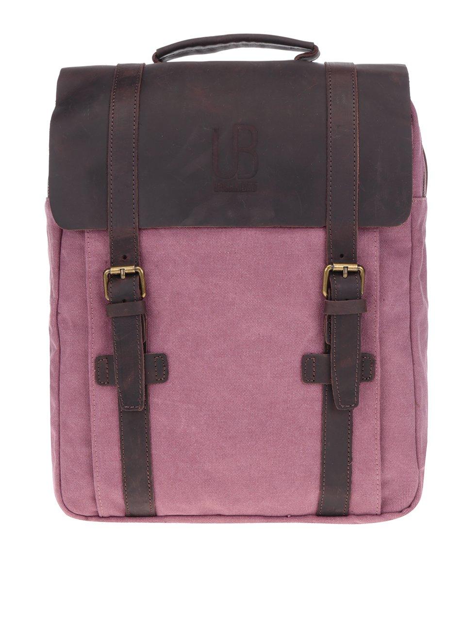 Růžový unisex batoh Urban Bag