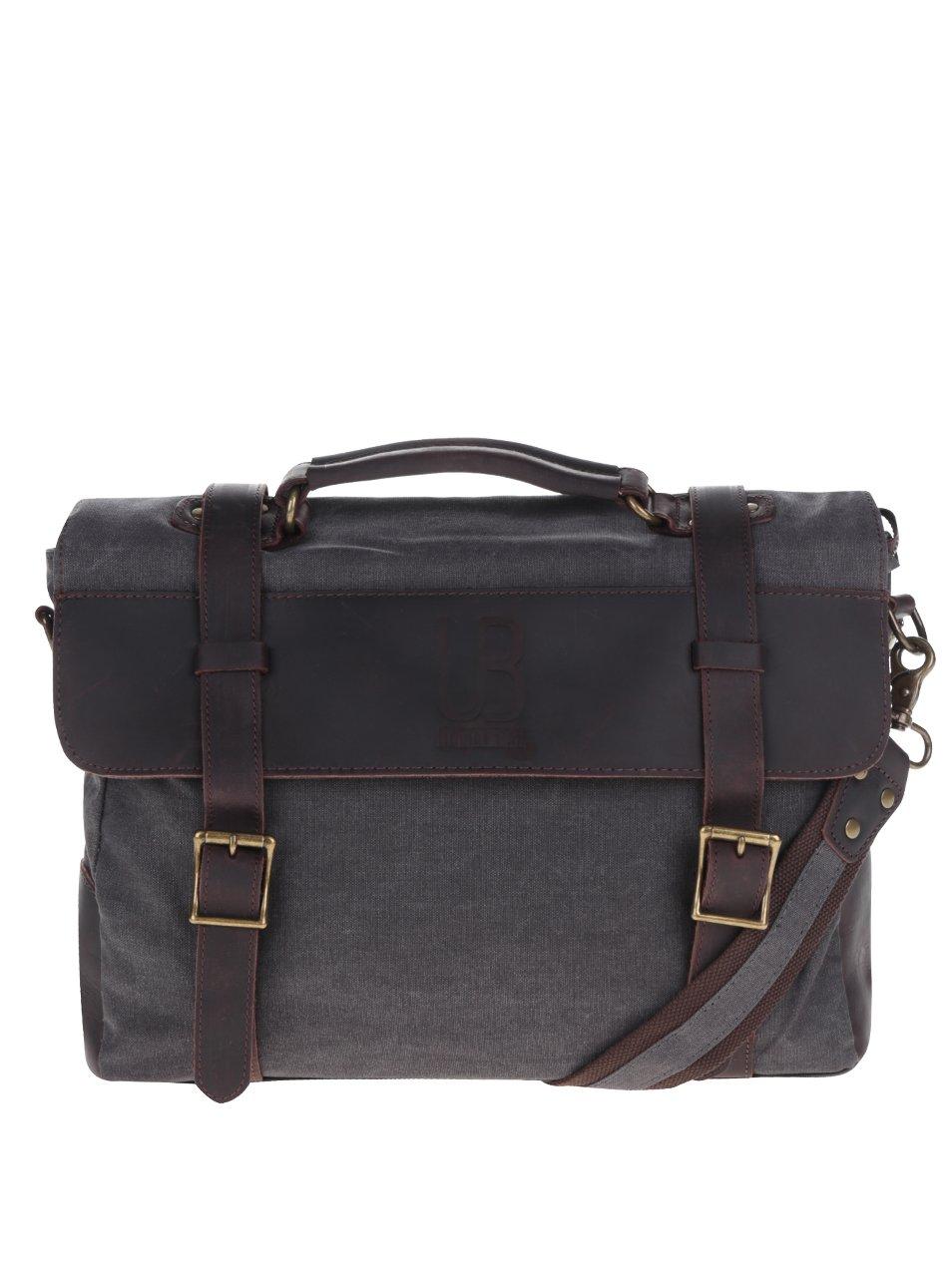 Tmavě šedá unisex taška Urban Bag