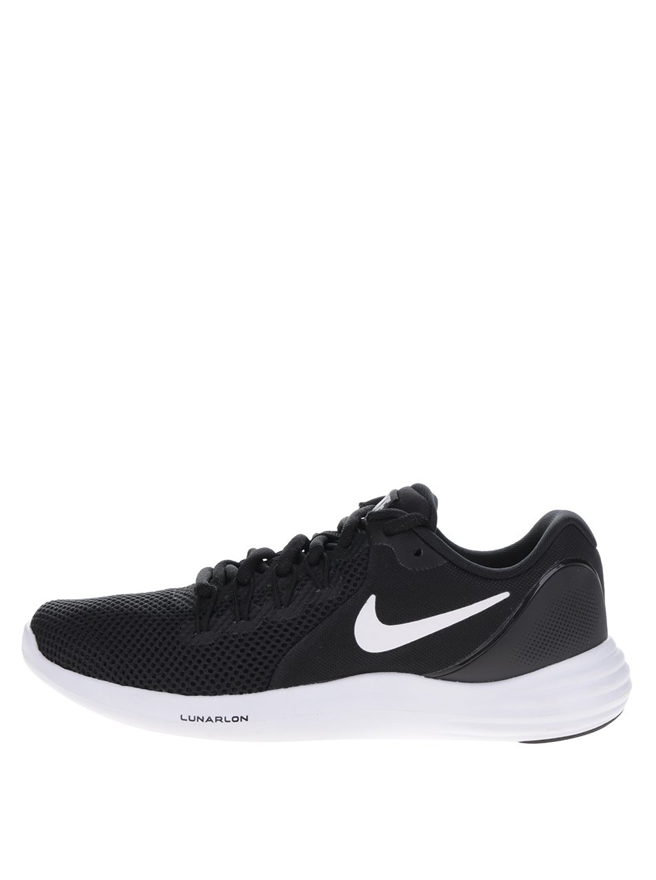 Černé dámské perforované tenisky Nike Lunar Apparent