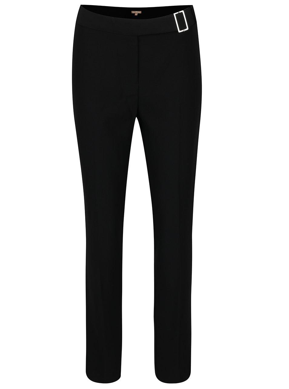 Čierne dámske formálne nohavice M&Co