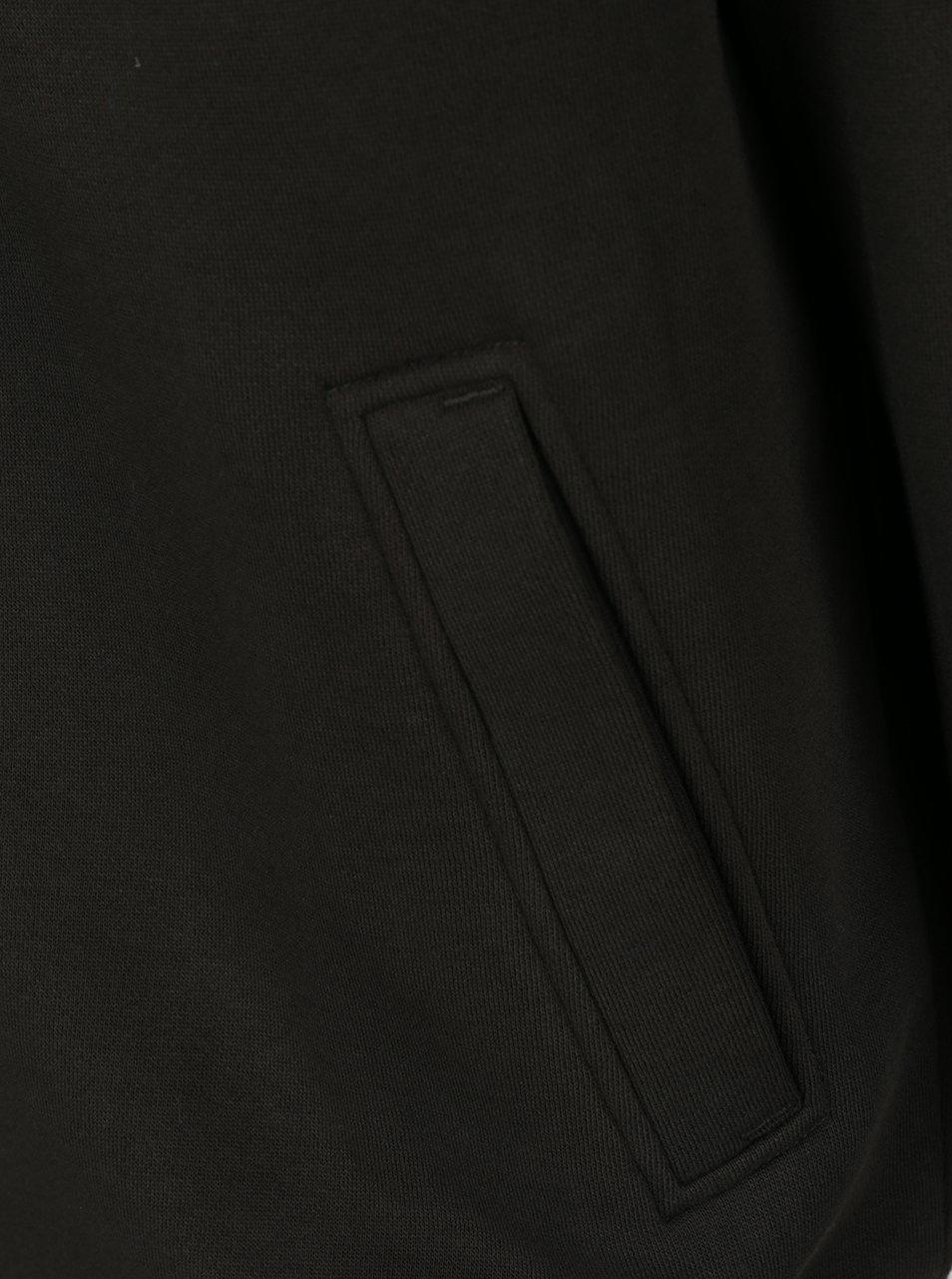 Tmavě zelená pánská mikina na zip BUSHMAN Vulcan - Akční cena ... c901424a8f