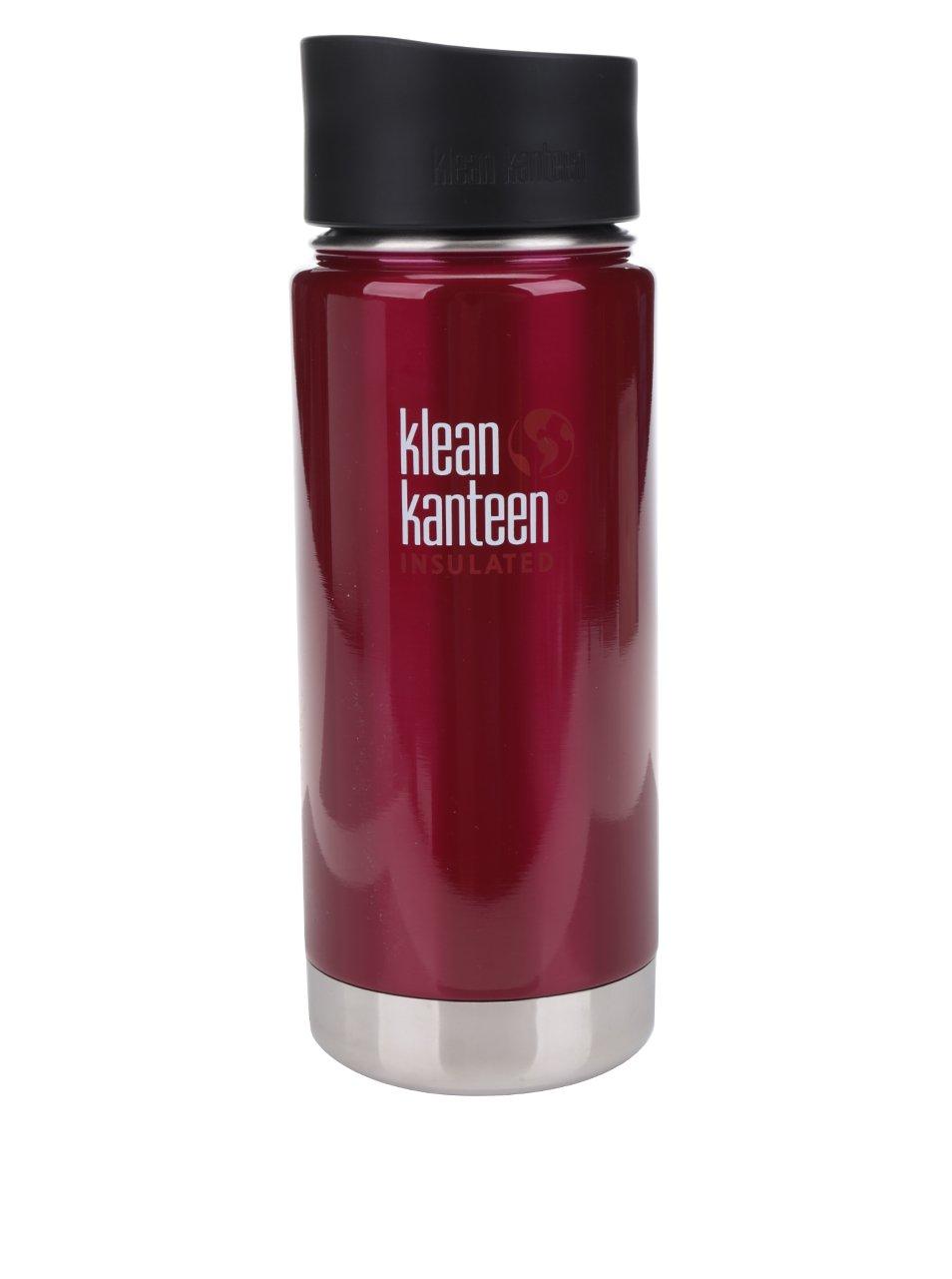 Vínová nerezová termoska Klean Kanteen Insulated Wide 473 ml